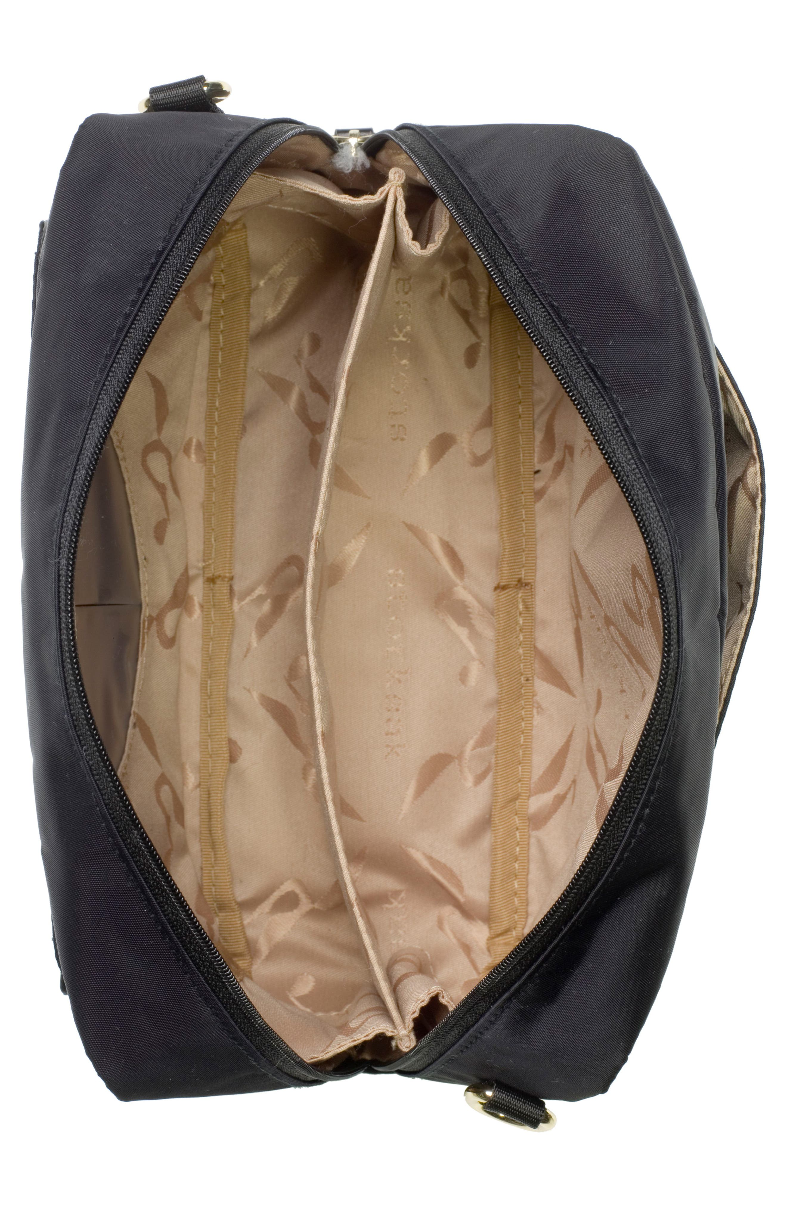 Mini Fix Crossbody Diaper Bag,                             Alternate thumbnail 3, color,                             BLACK