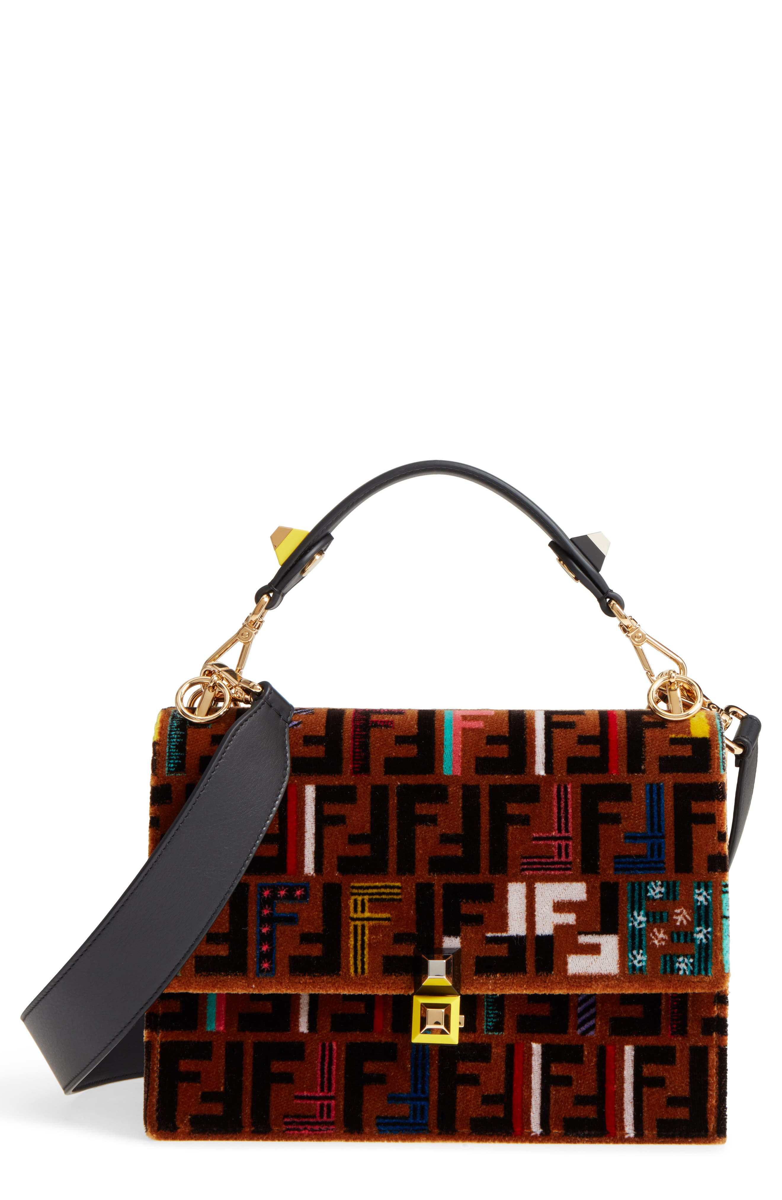 Kan I Tappetino Velvet Shoulder Bag,                         Main,                         color, 207