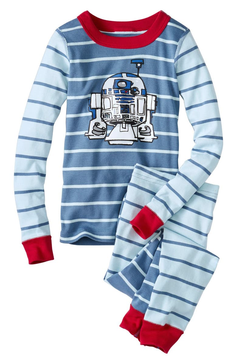 c2600beced Hanna Andersson  Star Wars - R2-D2  Organic Cotton Fitted Two-Piece ...