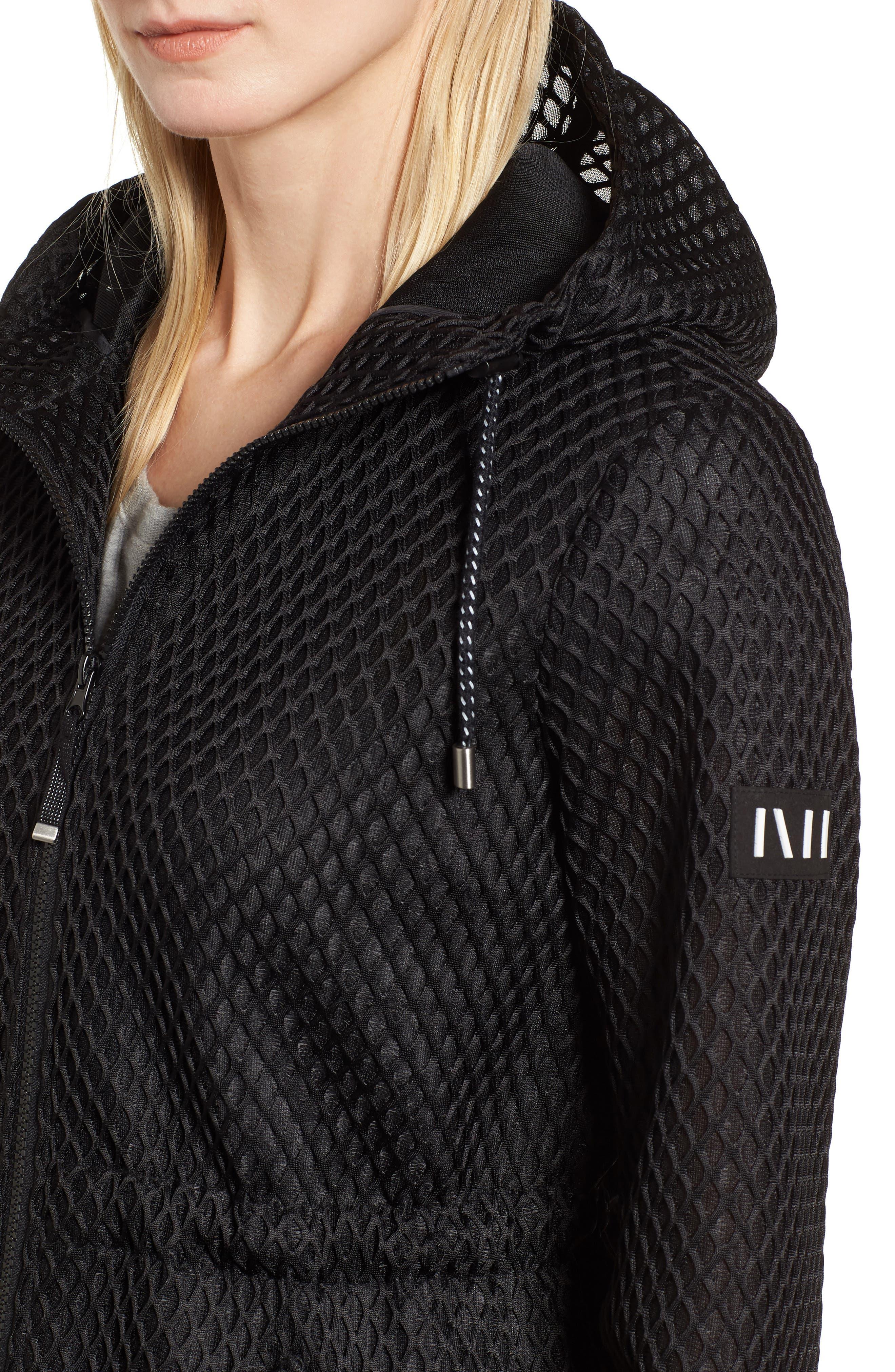 Hooded Mesh Jacket,                             Alternate thumbnail 4, color,