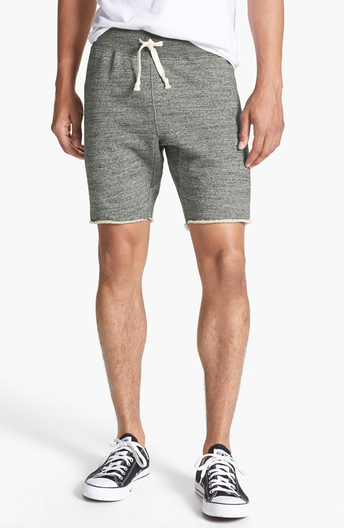 Knit Cotton Shorts,                             Main thumbnail 2, color,