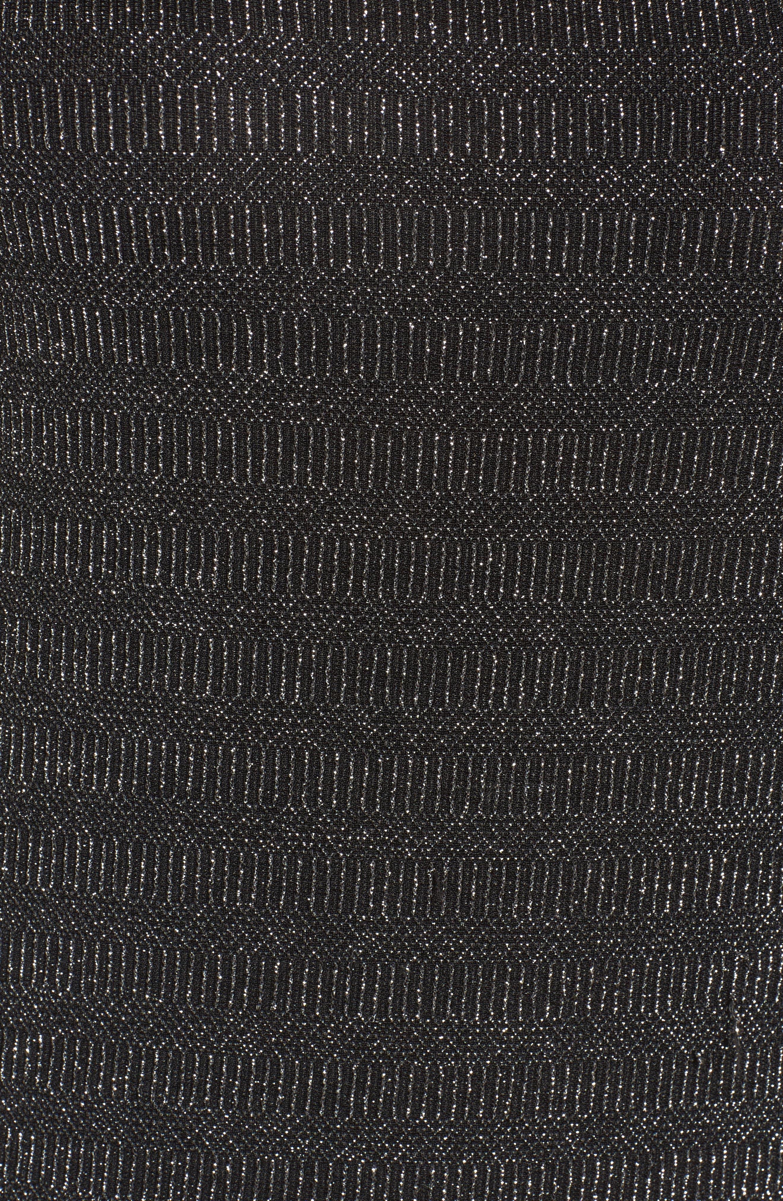 Glitter Bell Sleeve Top,                             Alternate thumbnail 5, color,                             041
