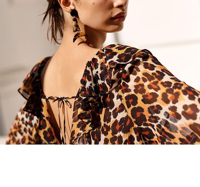 Wild style: animal prints. Topshop clothing.