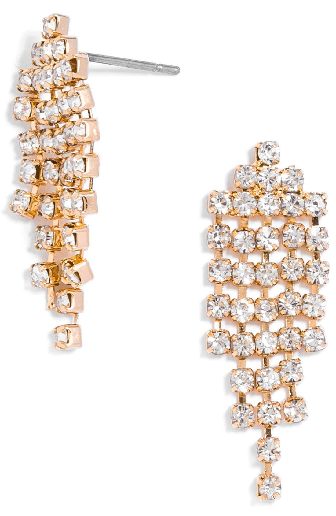 'Gem' Waterfall Earrings,                         Main,                         color, 100