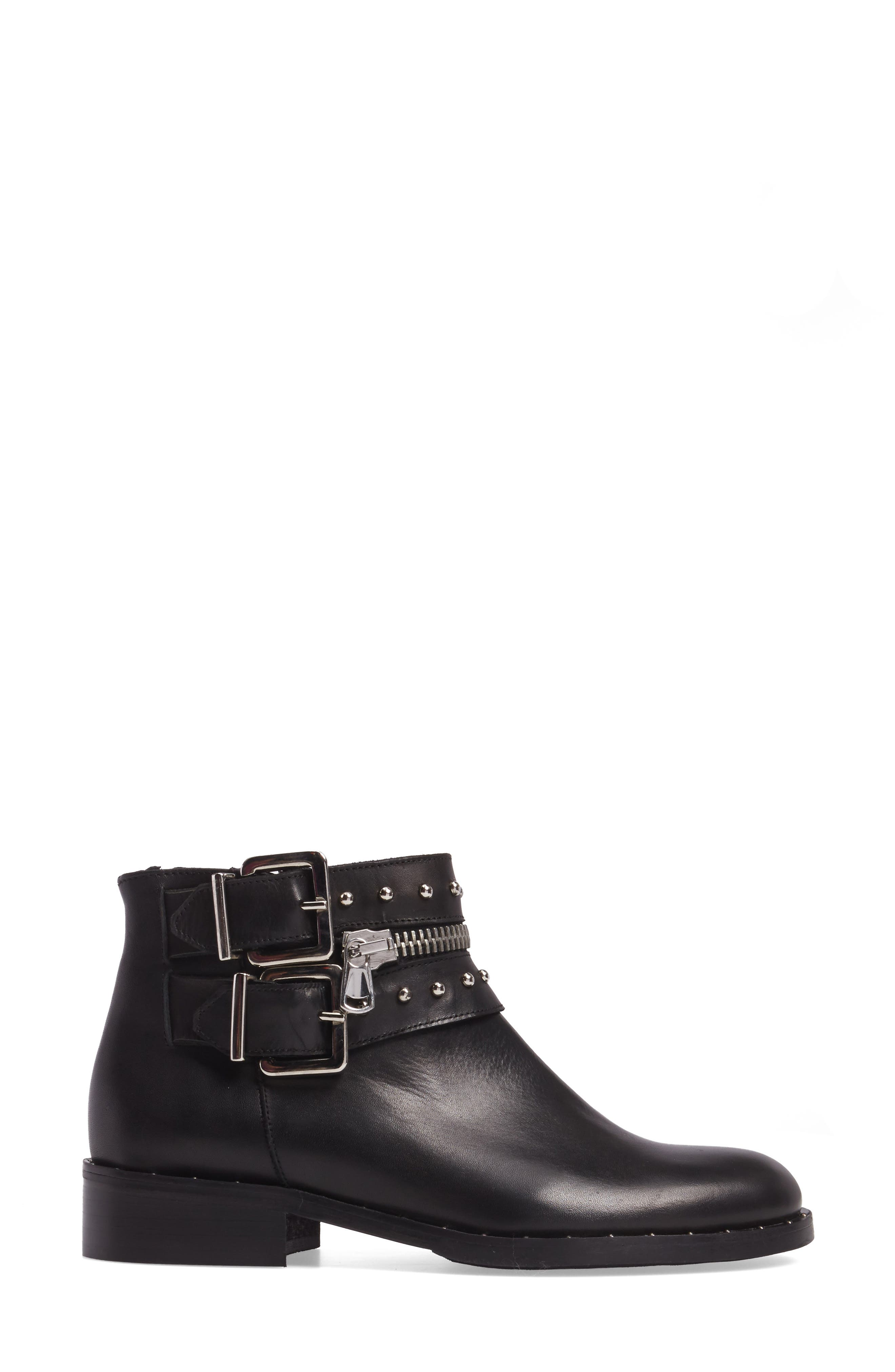 Chief Buckle Bootie,                             Alternate thumbnail 3, color,                             001
