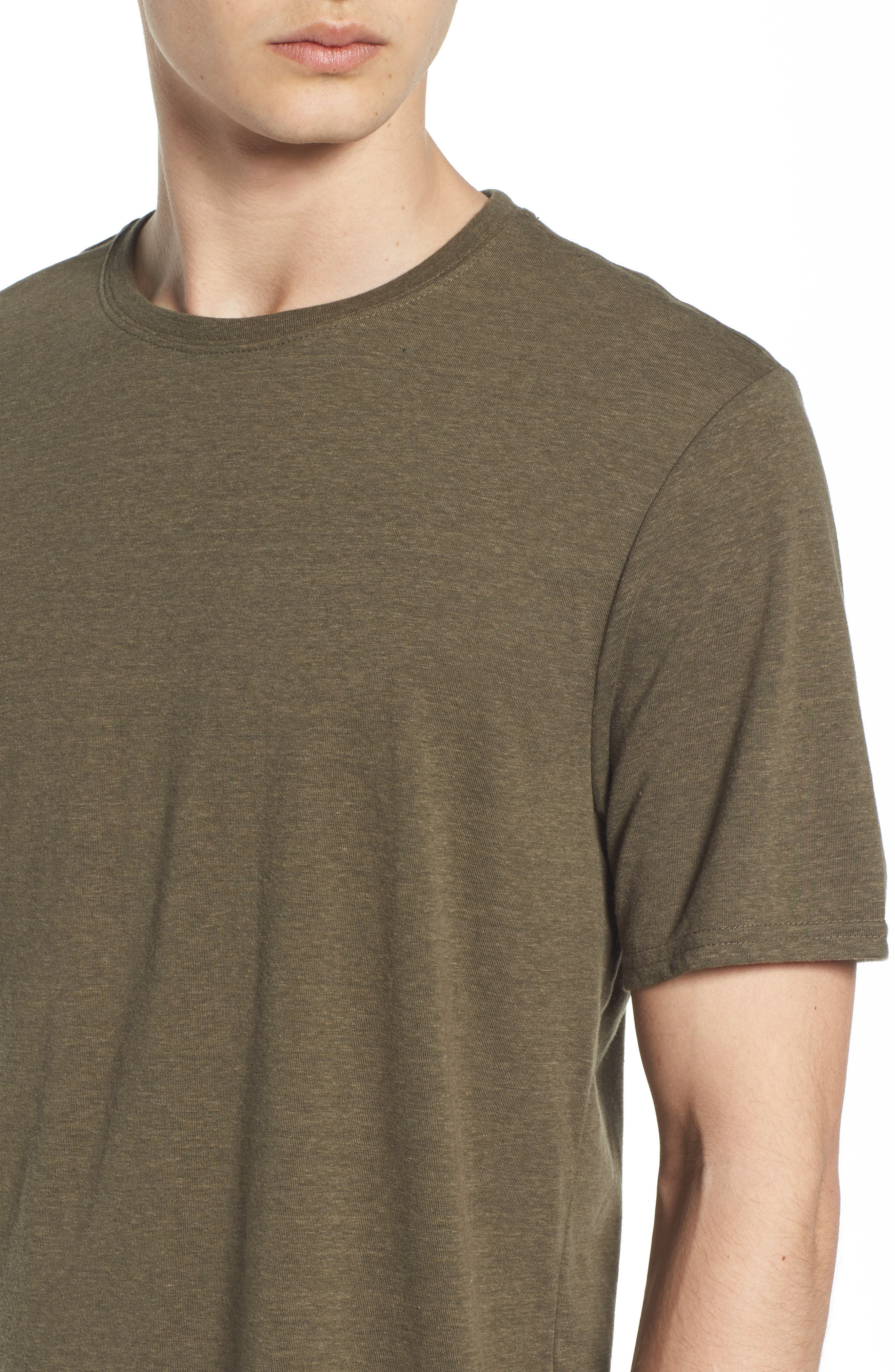 Threads for Thought Heathered Crew Neck,                             Alternate thumbnail 33, color,