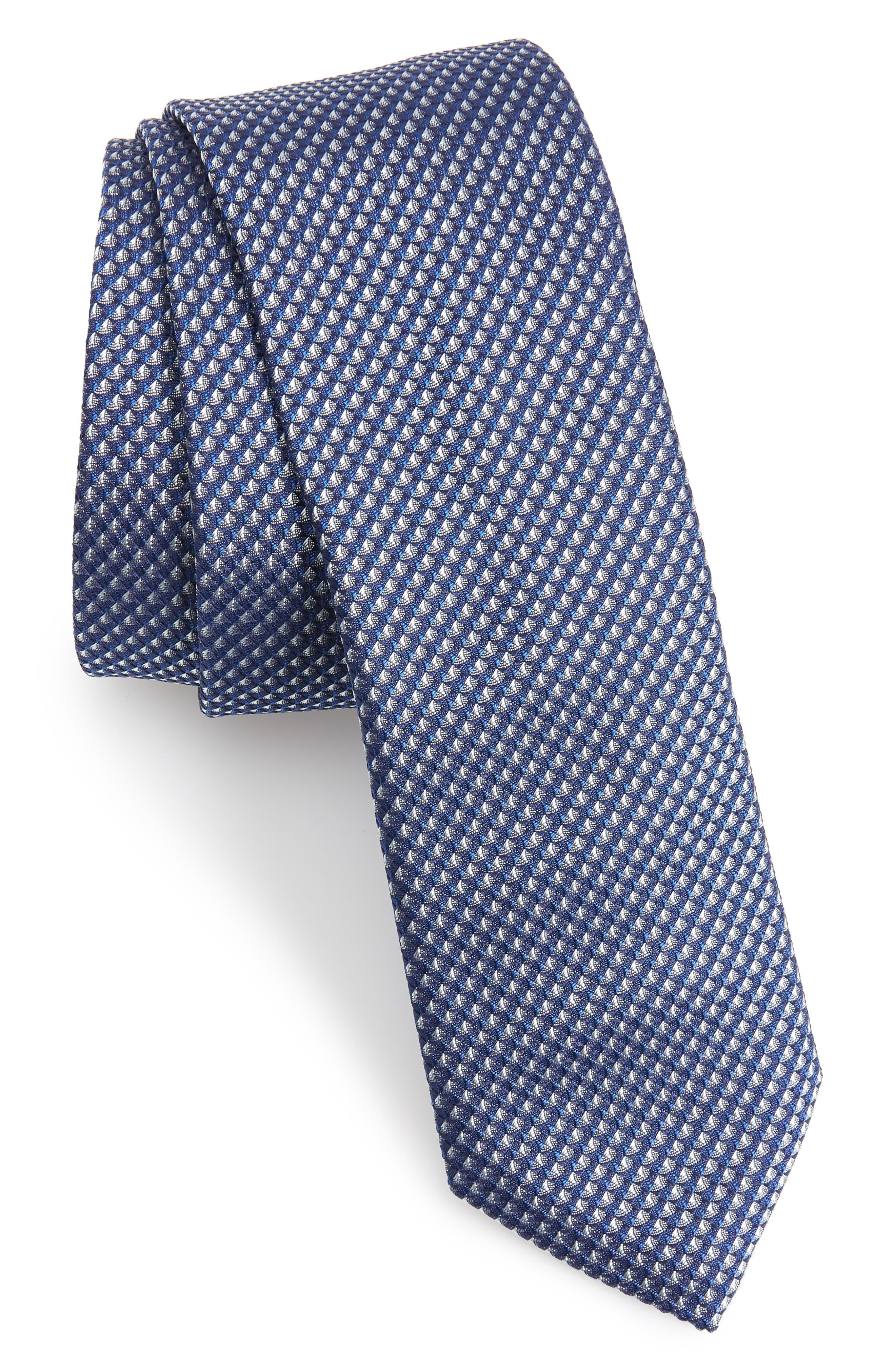 Solid Silk Tie,                         Main,                         color, 451