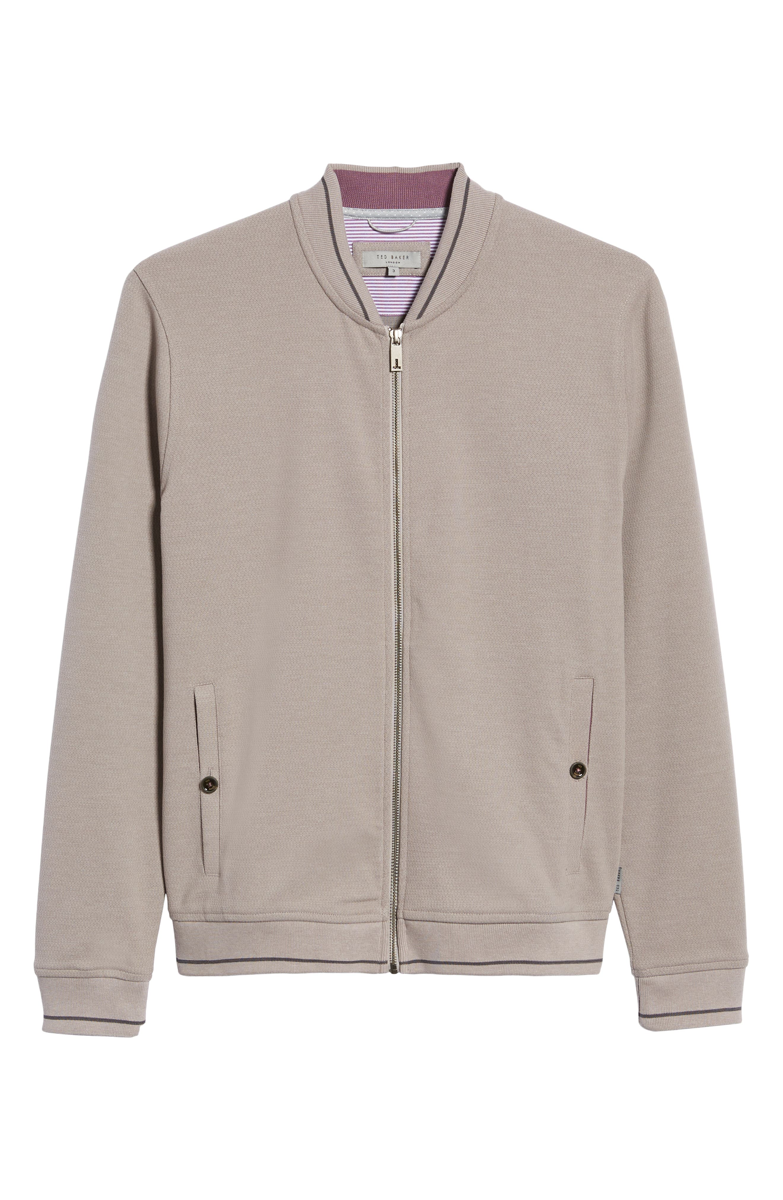 Chicpea Jersey Bomber Jacket,                             Alternate thumbnail 6, color,                             250