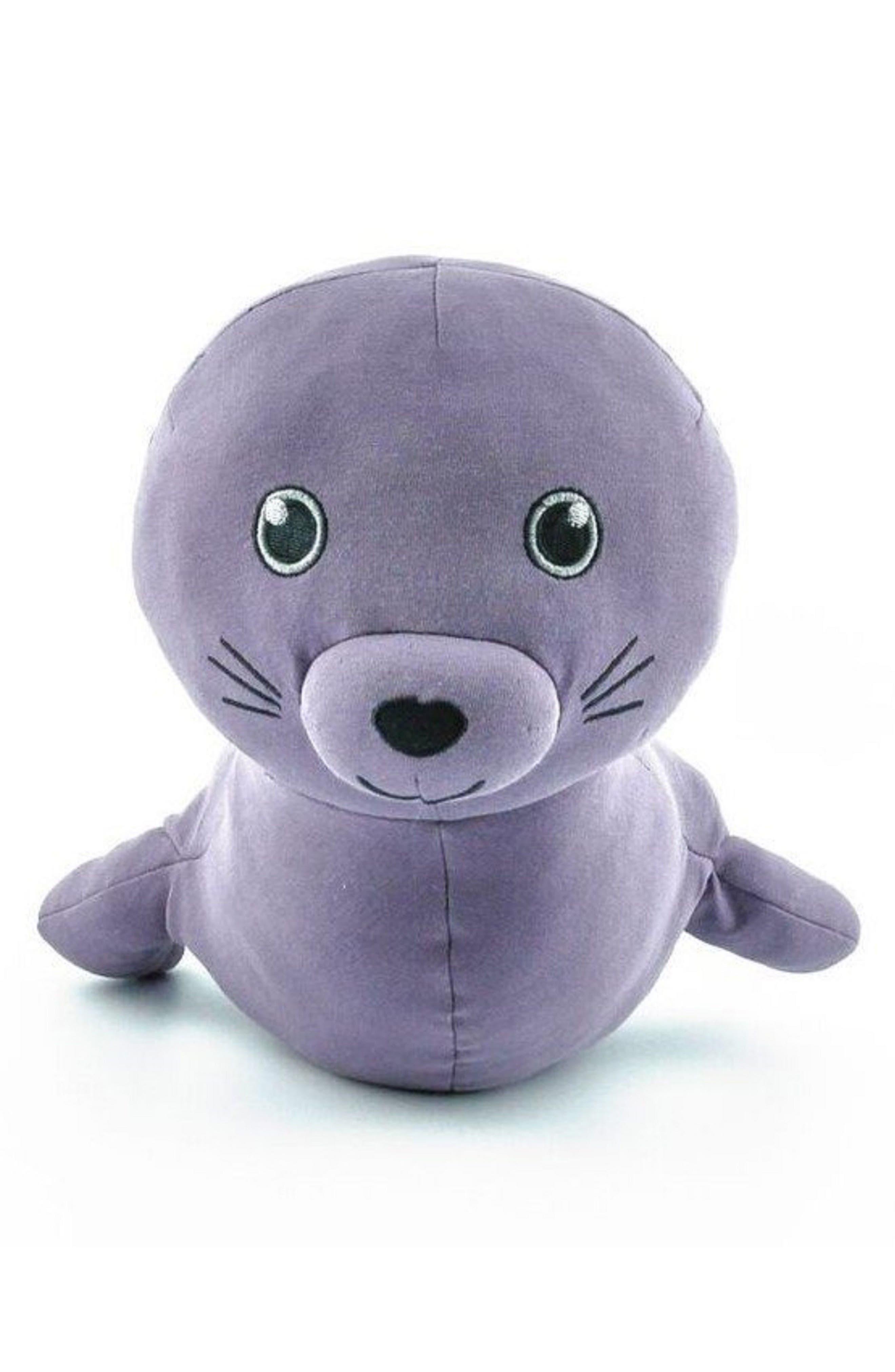 ELLY LU ORGANICS,                             Makana Monk Seal Stuffed Animal,                             Main thumbnail 1, color,                             500
