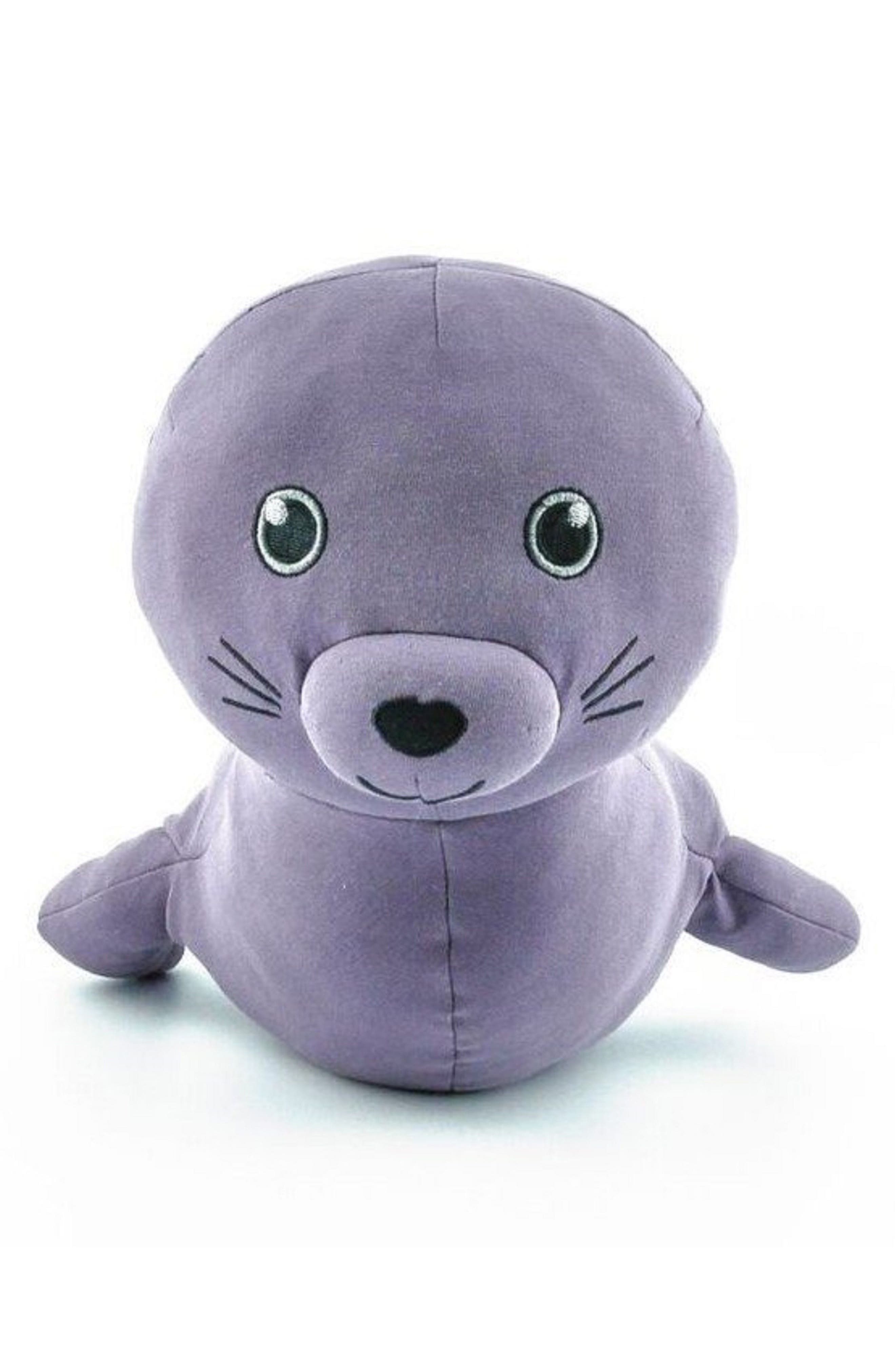 Elly Lou Organics Small Makana Monk Seal Stuffed Animal,                         Main,                         color, 500