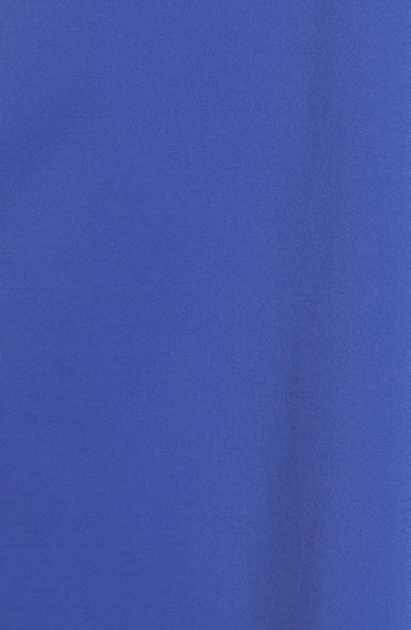 'Pearl' Split Neck Cover-Up Dress,                             Alternate thumbnail 5, color,                             400