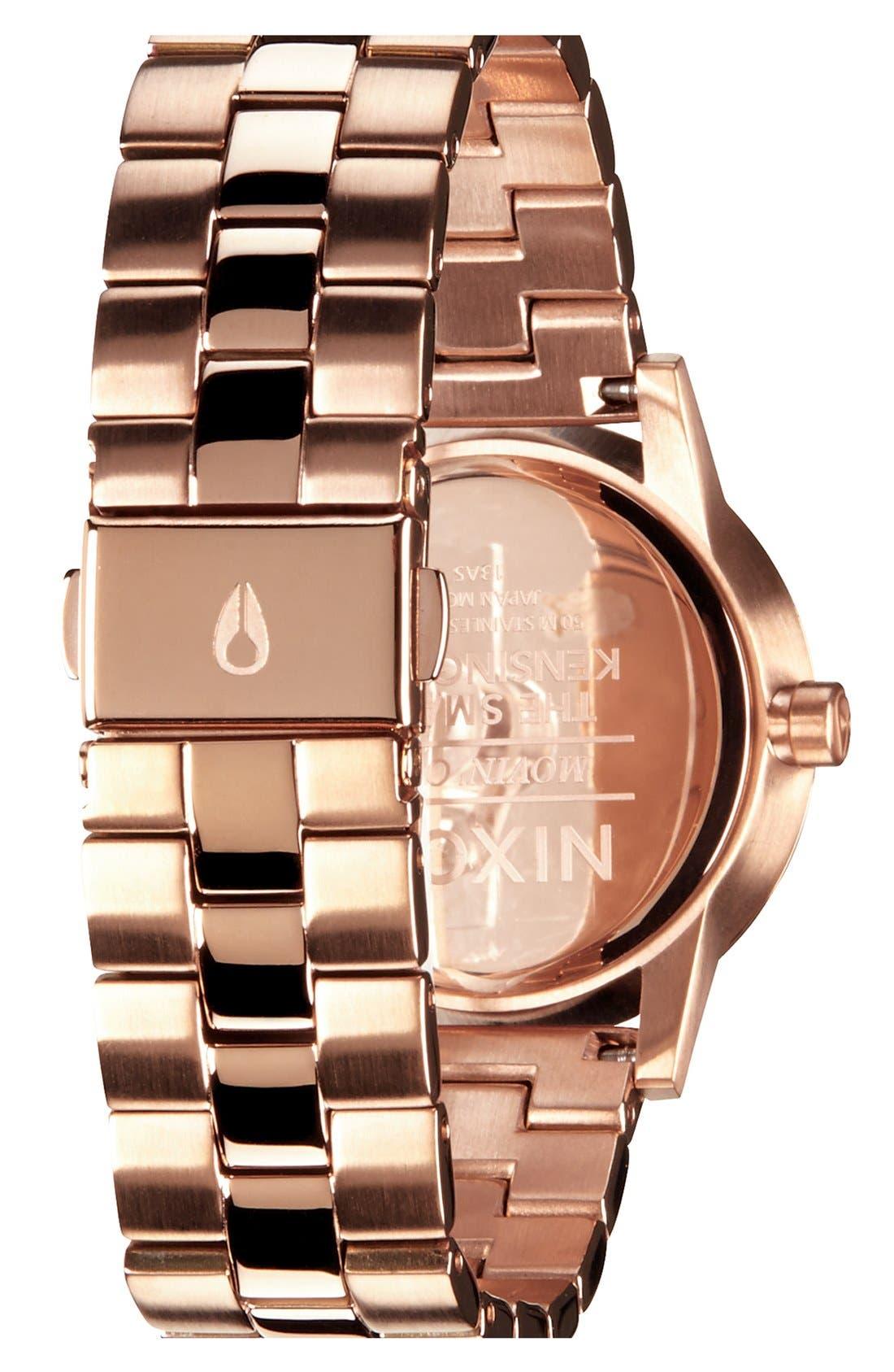 'The Small Kensington' Bracelet Watch, 30mm,                             Alternate thumbnail 2, color,                             ROSE GOLD