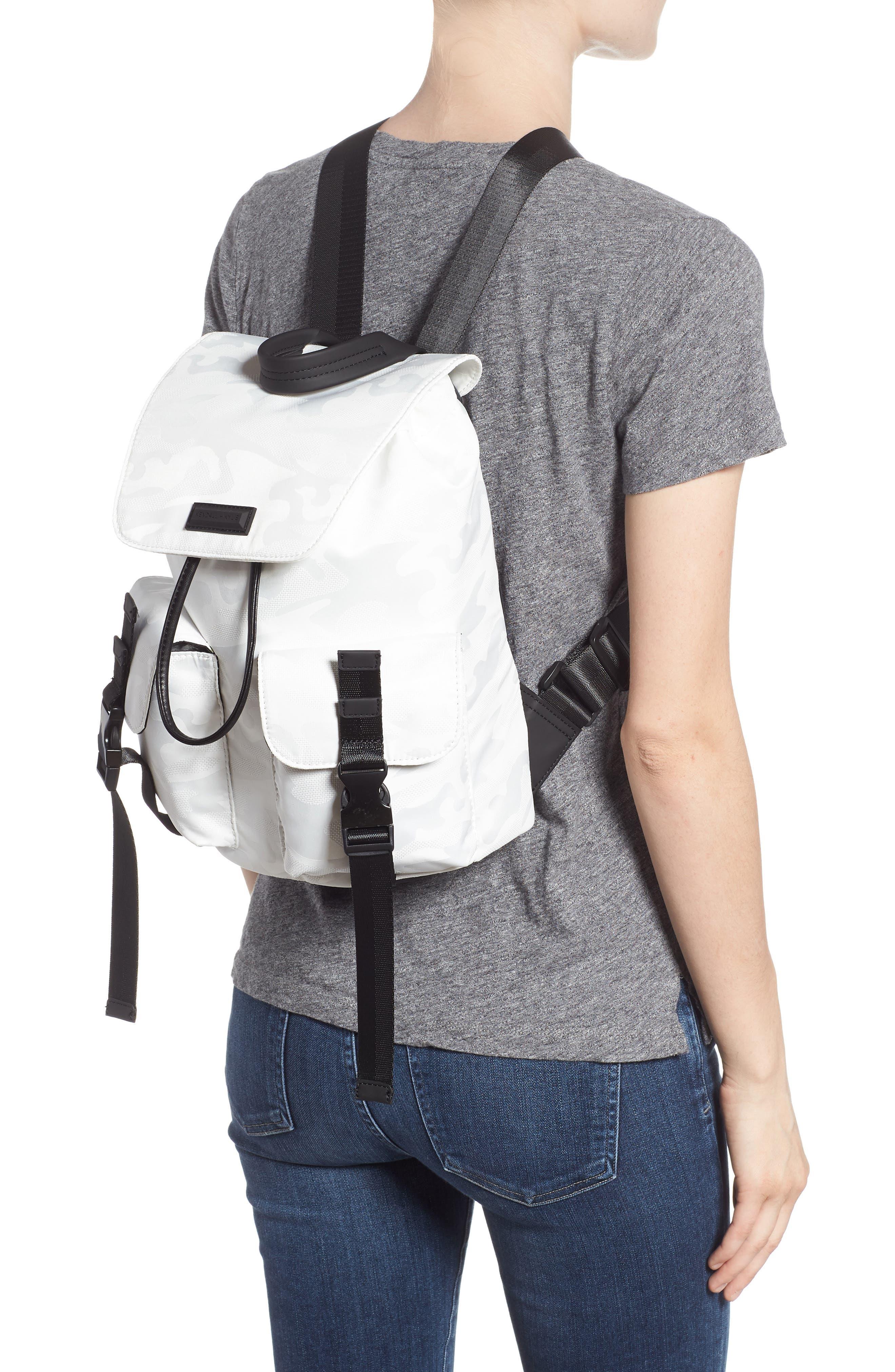 Parker Water Resistant Backpack,                             Alternate thumbnail 4, color,