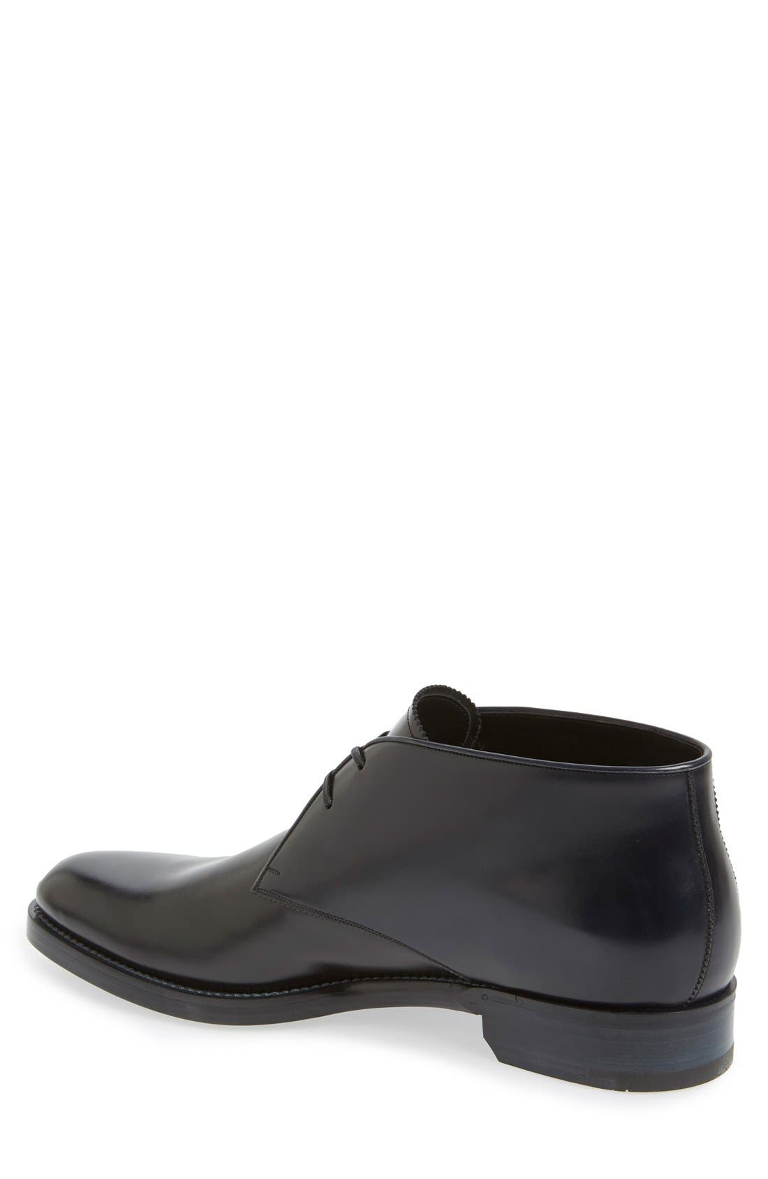 SALVATORE FERRAGAMO,                             'Georgetown' Chukka Boot,                             Alternate thumbnail 4, color,                             001