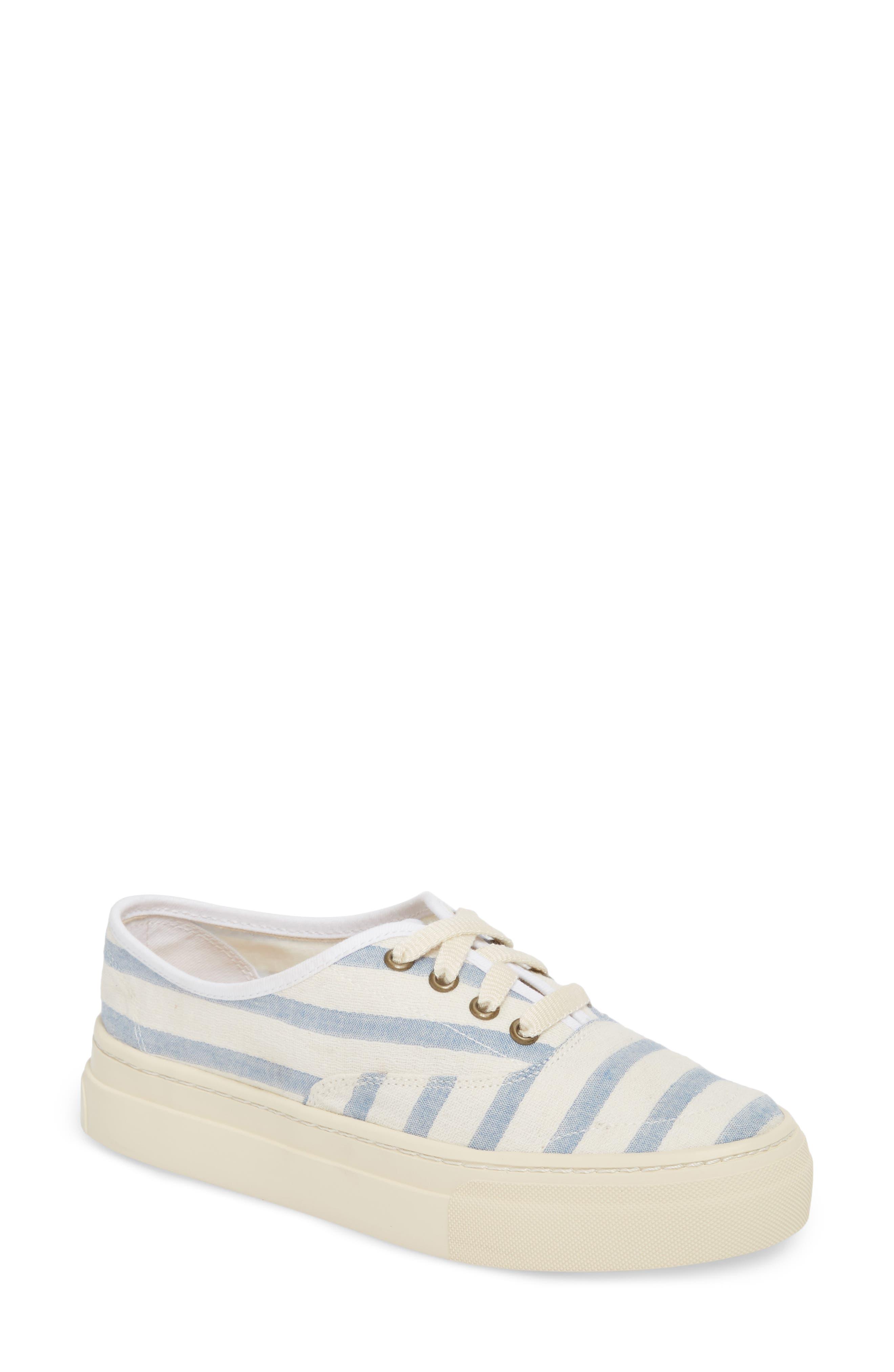 Platform Stripe Sneaker,                             Main thumbnail 1, color,