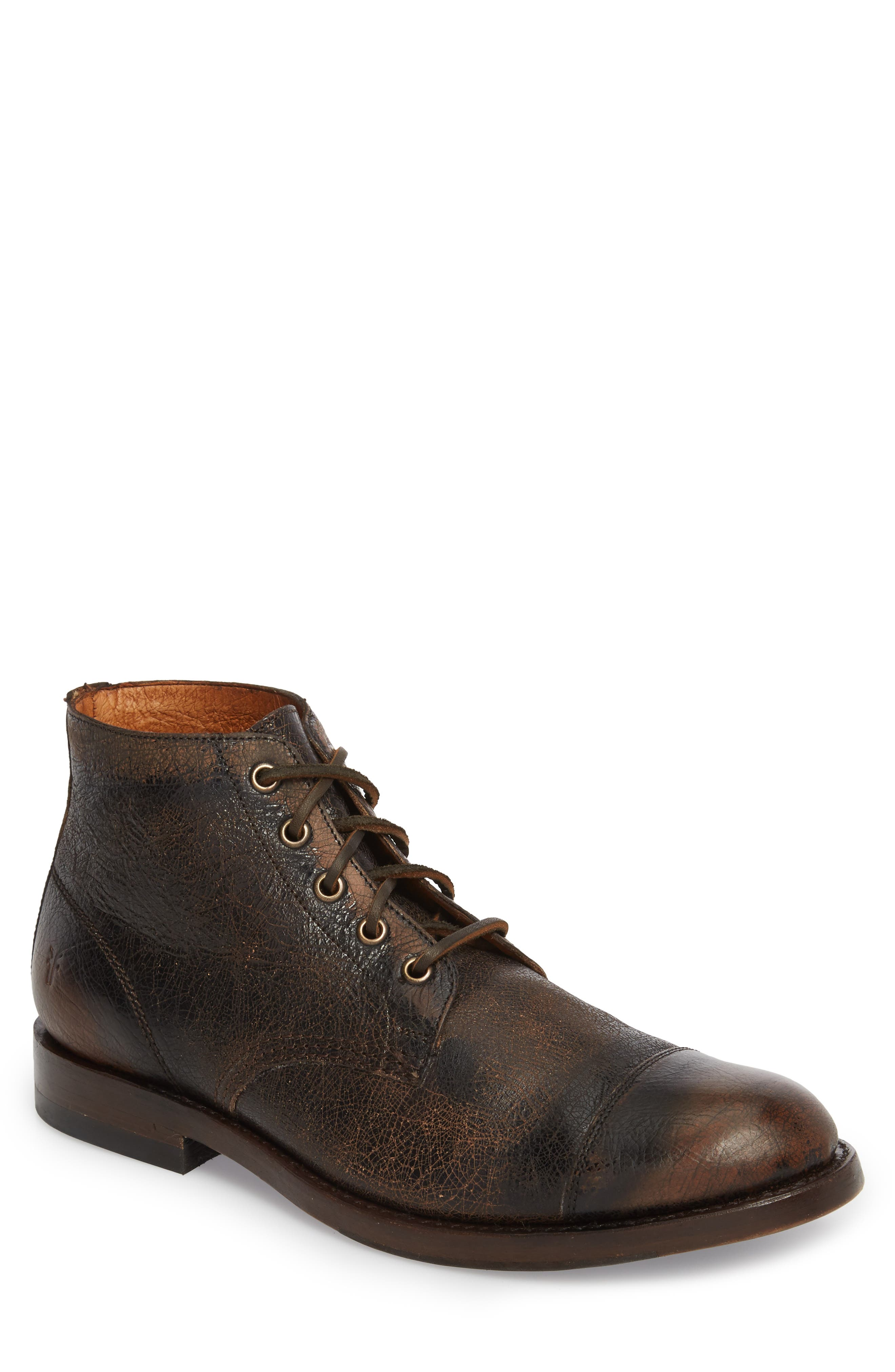 Will Chukka Boot,                         Main,                         color, DARK BROWN LEATHER