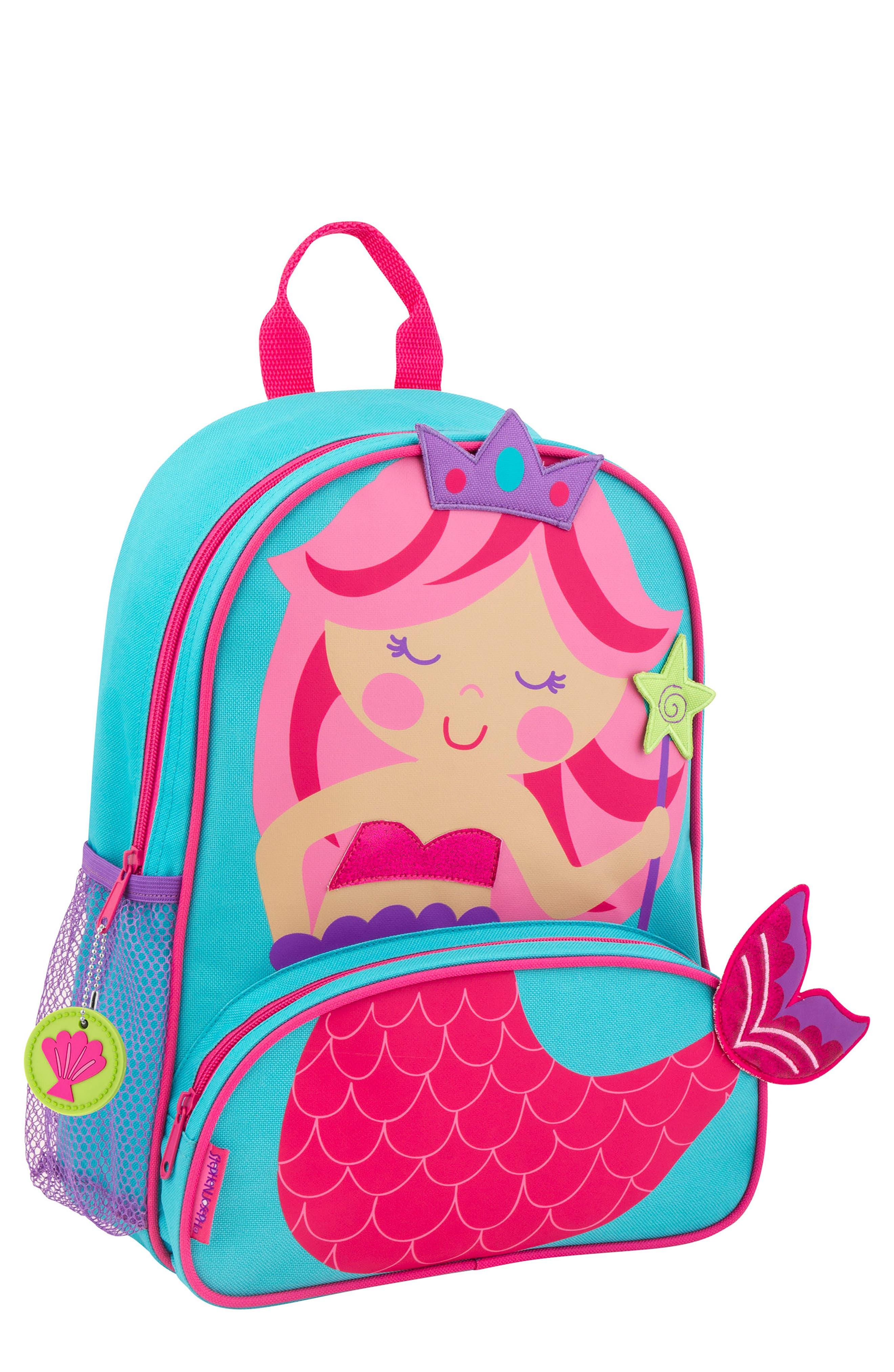 Girls Stephen Joseph Mermaid Sidekick Backpack  Lunch Pail