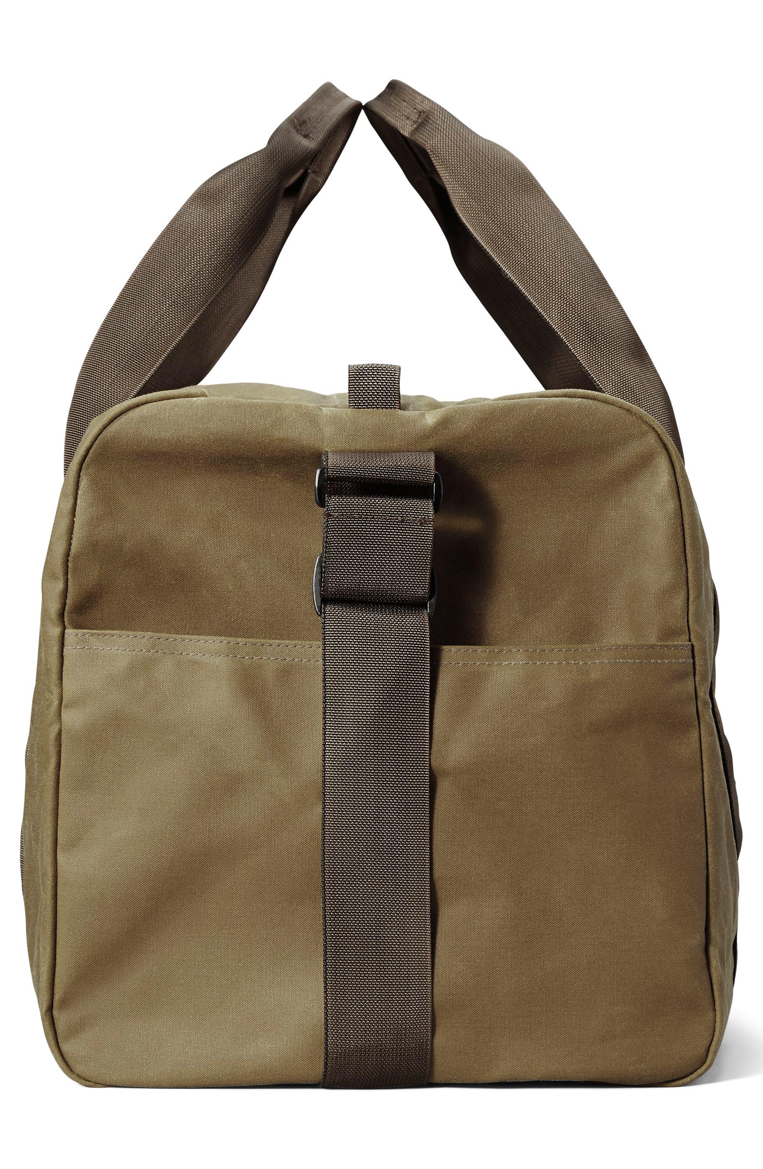 Medium Field Duffel Bag,                             Alternate thumbnail 3, color,                             DARK TAN