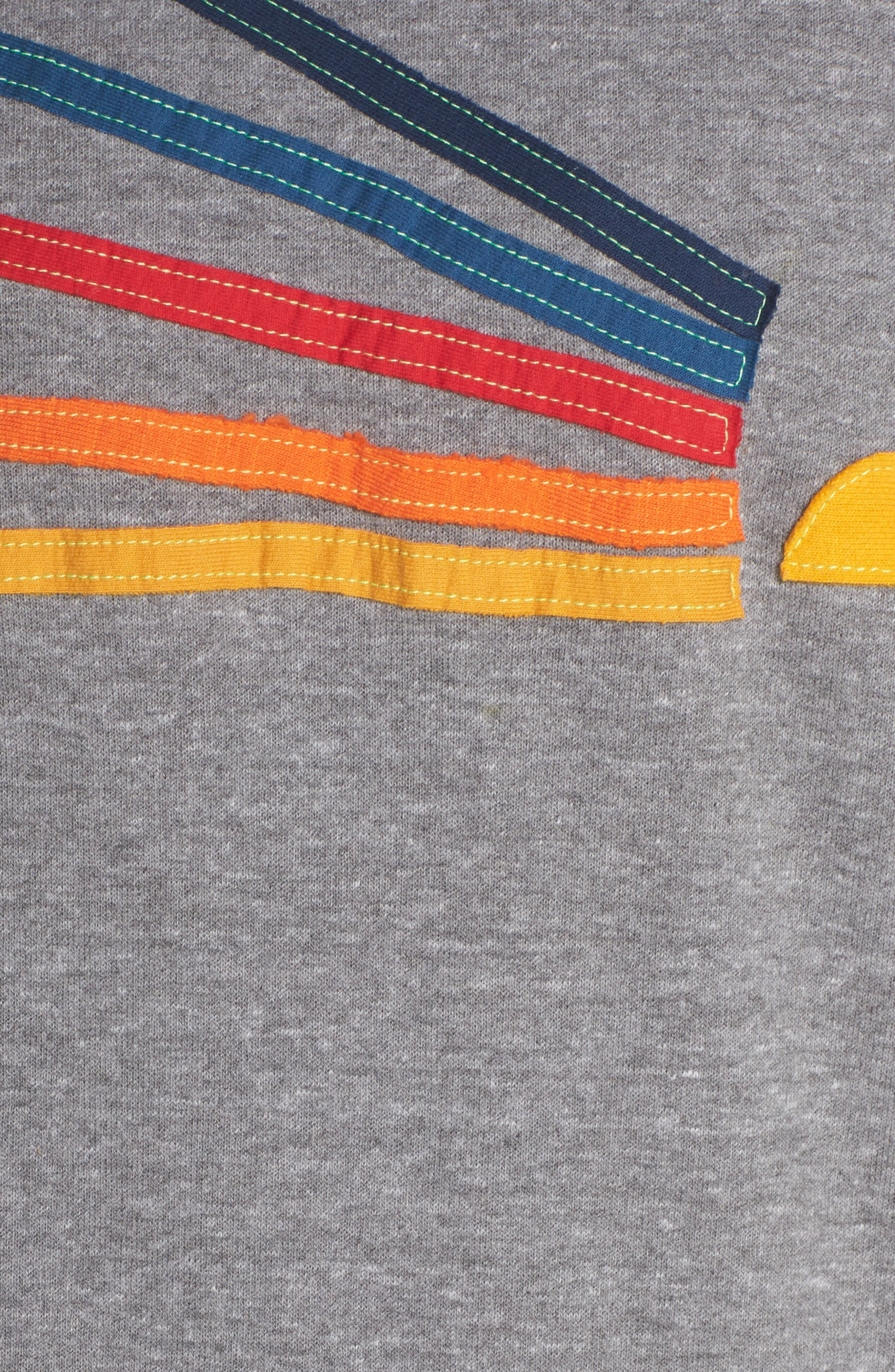Daydream Sweatshirt,                             Alternate thumbnail 6, color,                             HEATHER GREY