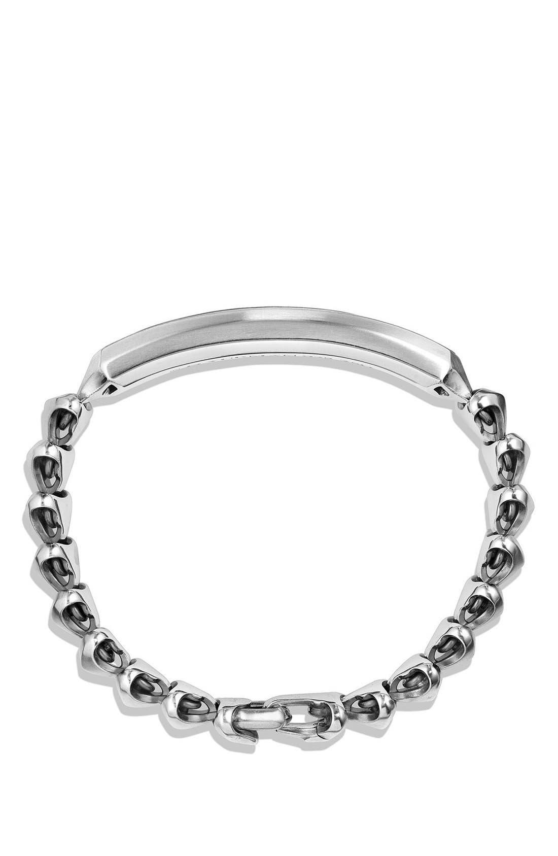 'Armory' Single Row ID Bracelet,                             Alternate thumbnail 6, color,
