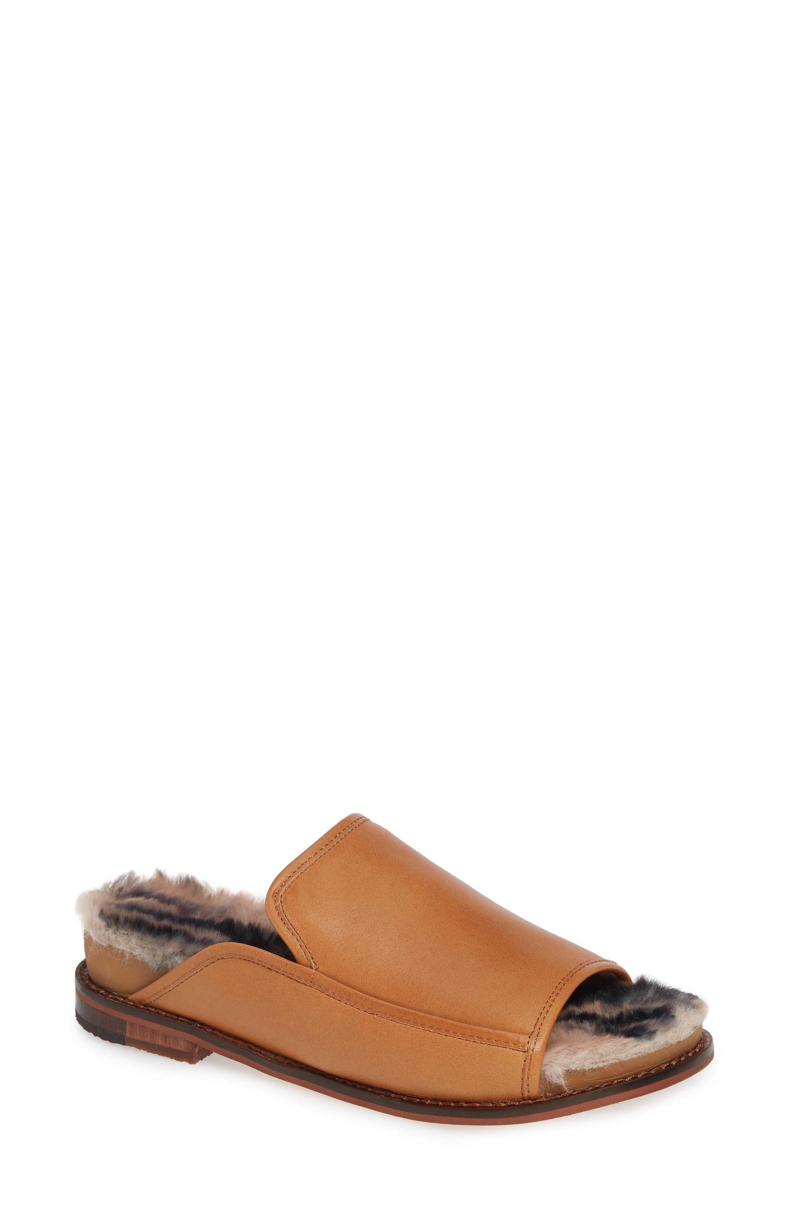 KELSI DAGGER BROOKLYN Odelle Slide Sandal, Main, color, SIENNA