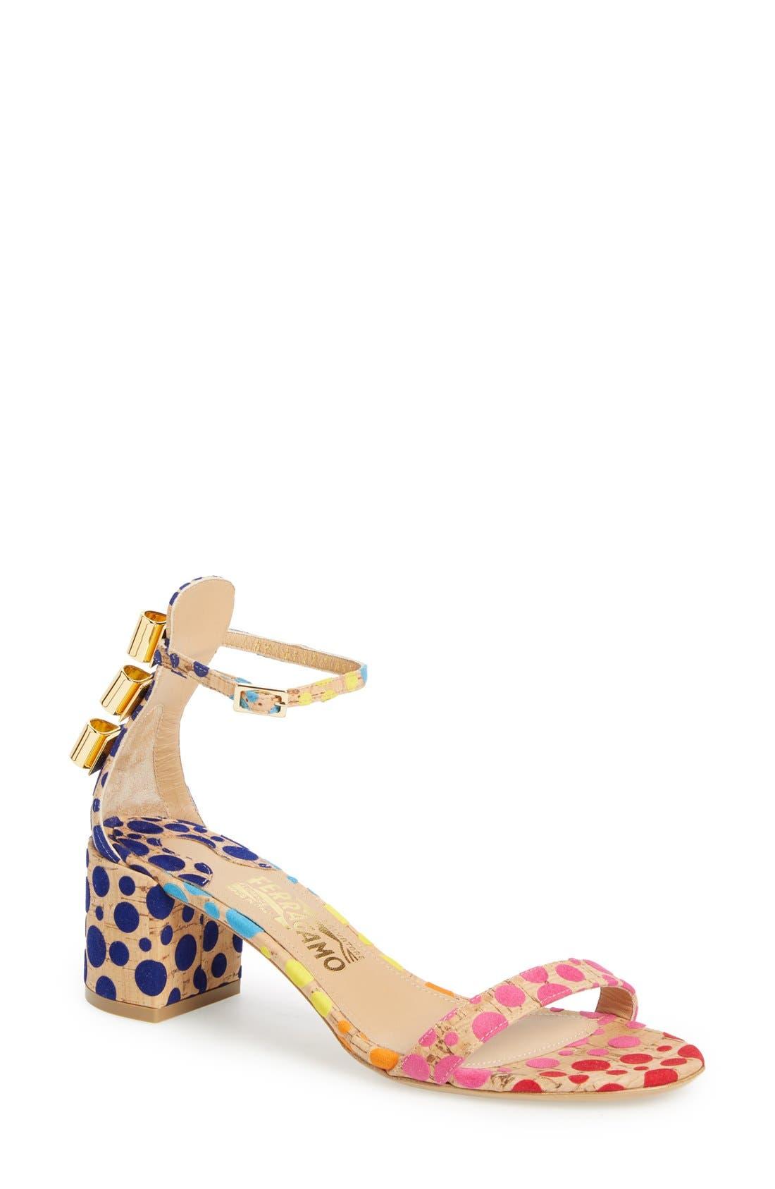 x Edgardo Osorio 'Connie' Ankle Strap Sandal, Main, color, 250