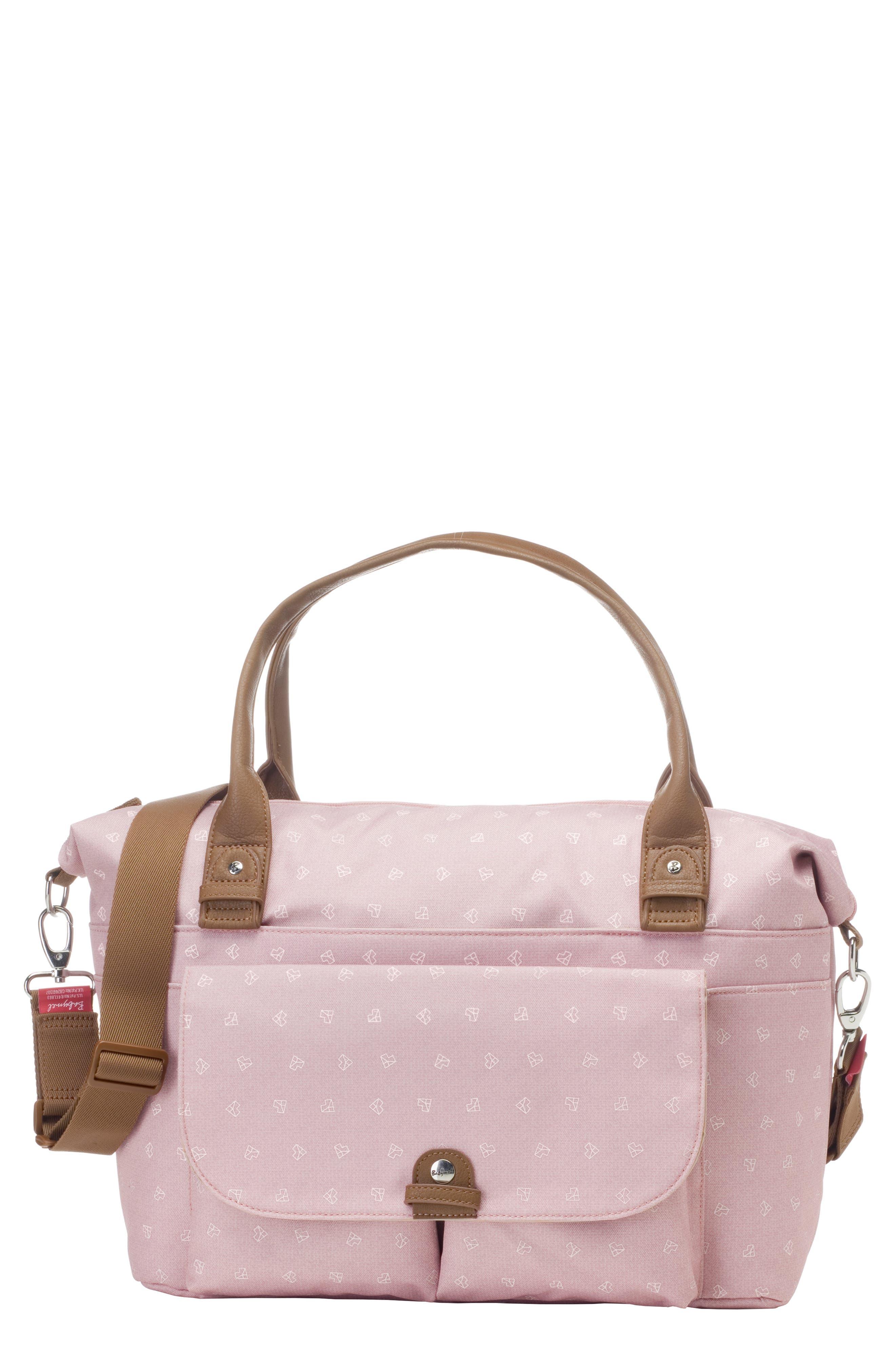 Infant Babymel Jade Diaper Bag  Pink