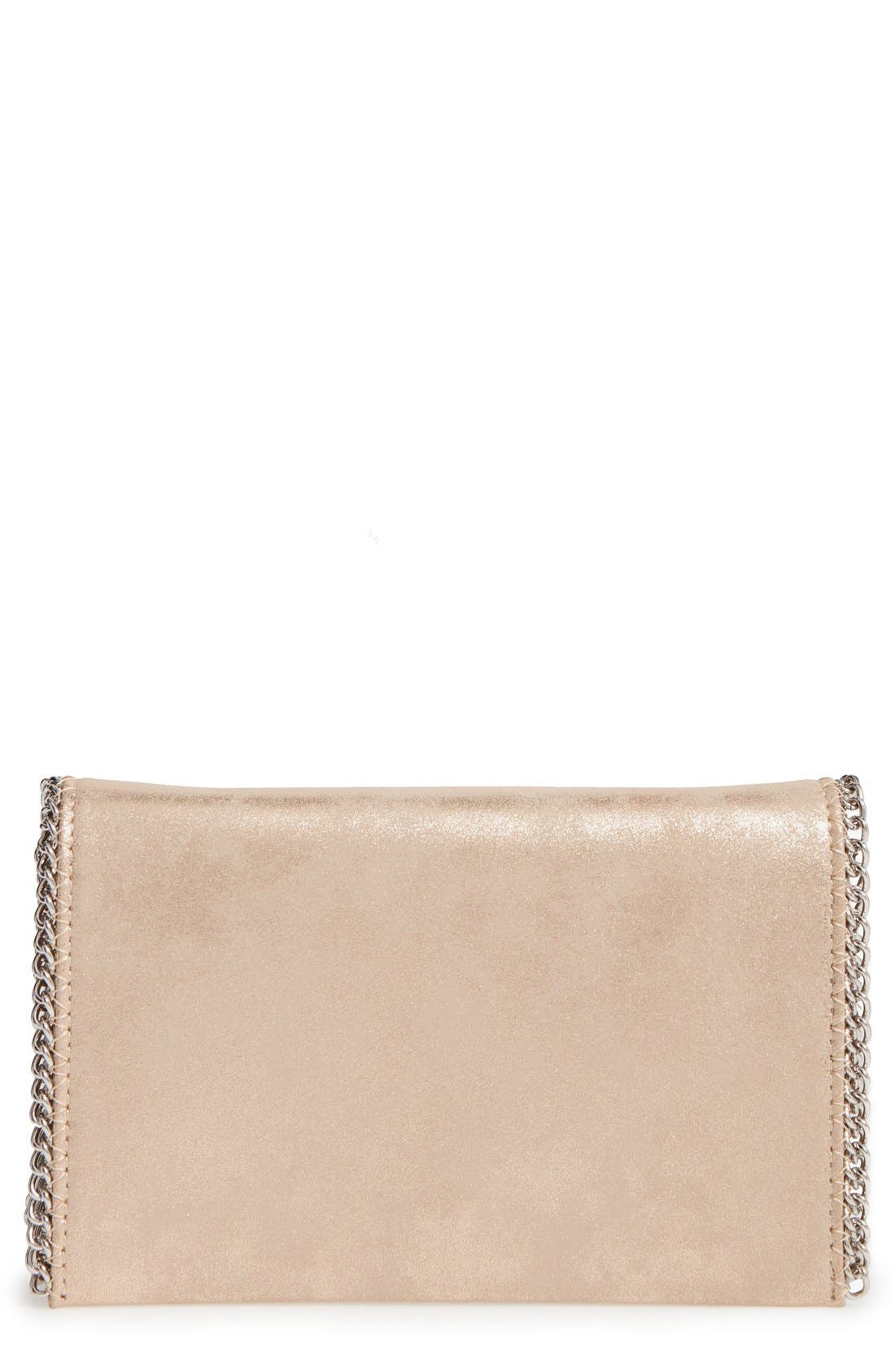 Faux Leather Crossbody Clutch,                             Main thumbnail 4, color,