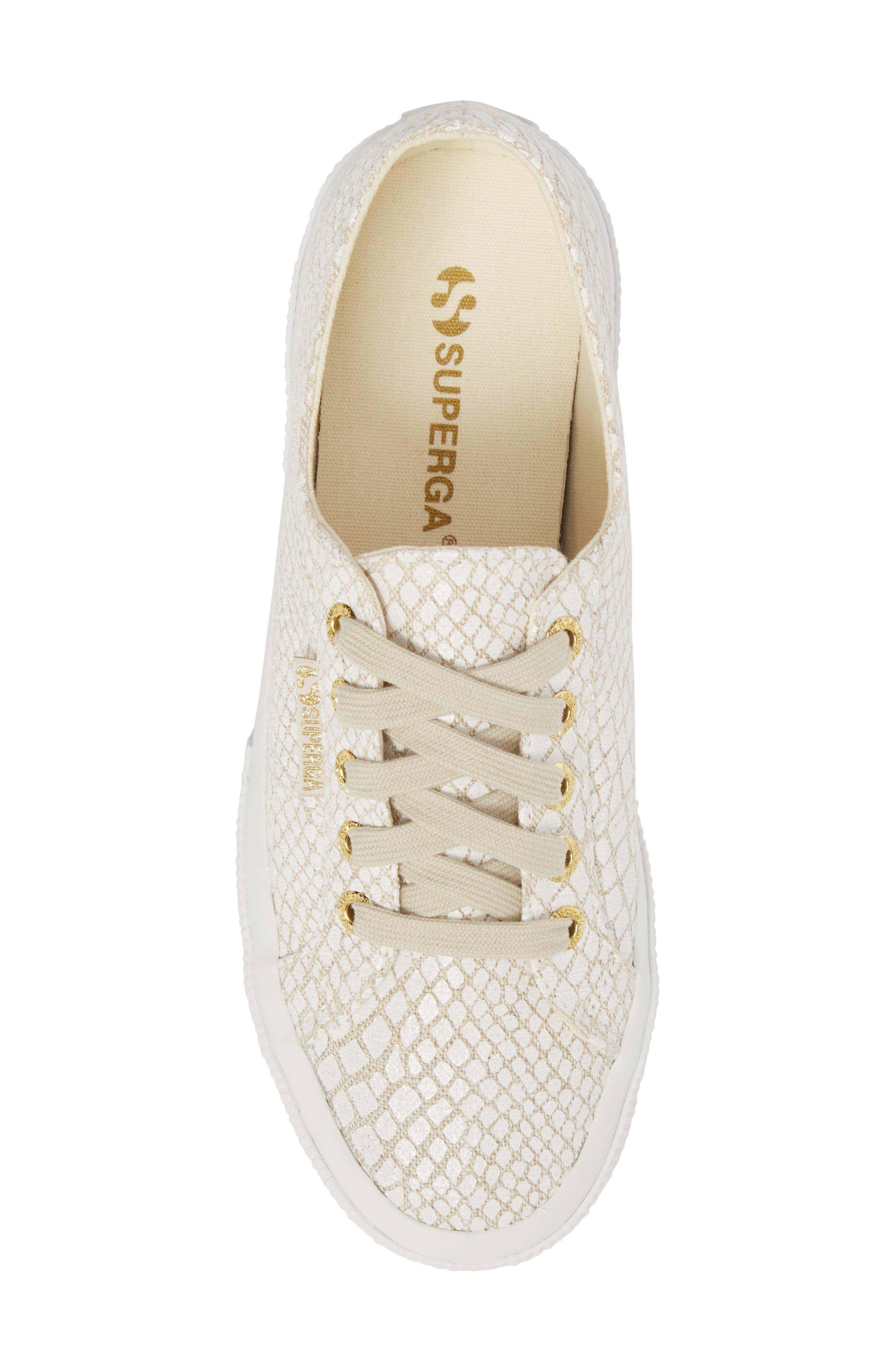 SUPERGA,                             2750 Low Top Sneaker,                             Alternate thumbnail 5, color,                             107