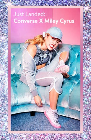 Just landed at Nordstrom: Converse x Miley Cyrus.
