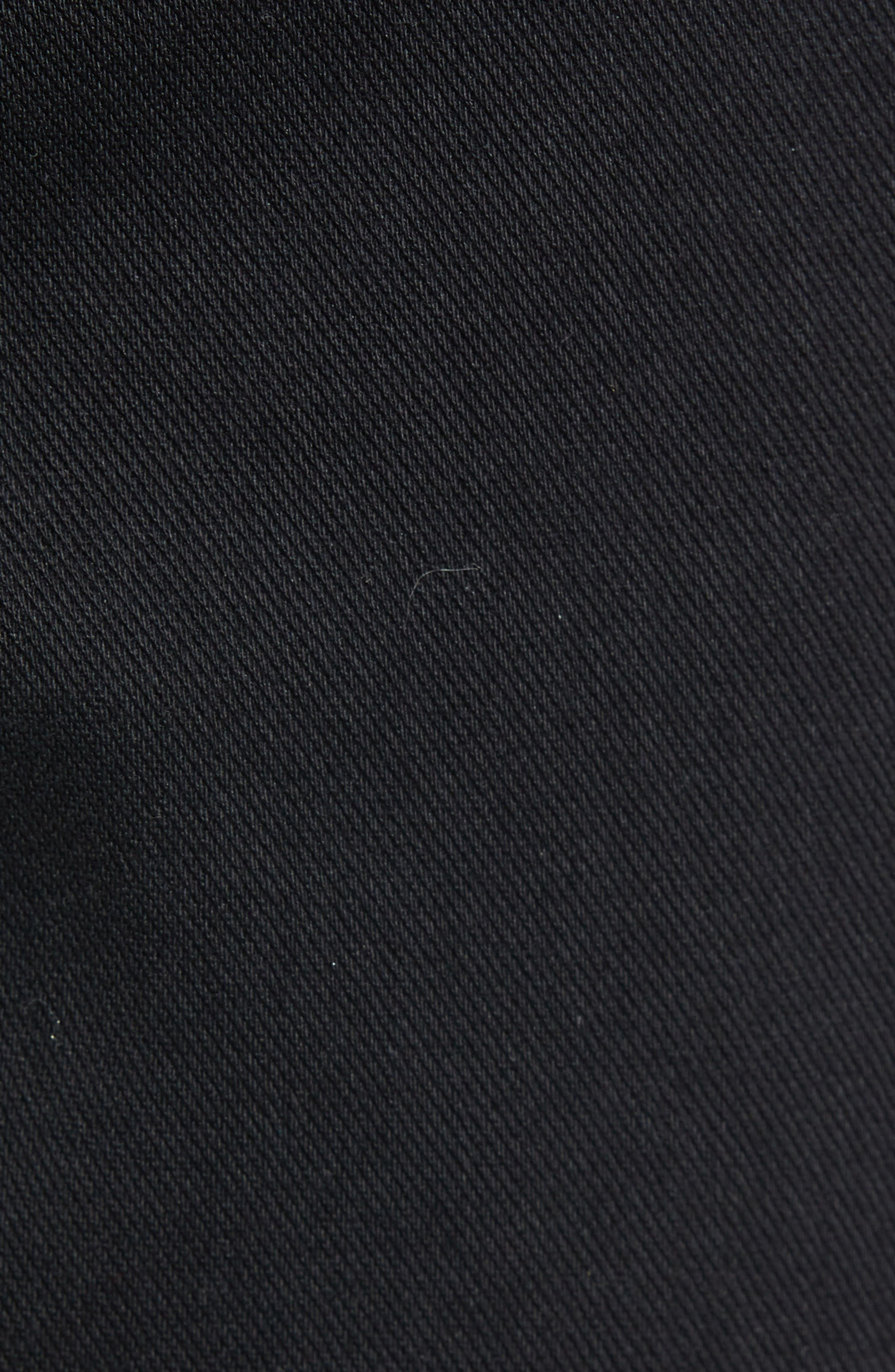 512<sup>™</sup> Slouchy Skinny Fit Twill Pants,                             Alternate thumbnail 5, color,                             BLACK WONDER KNIT TWILL