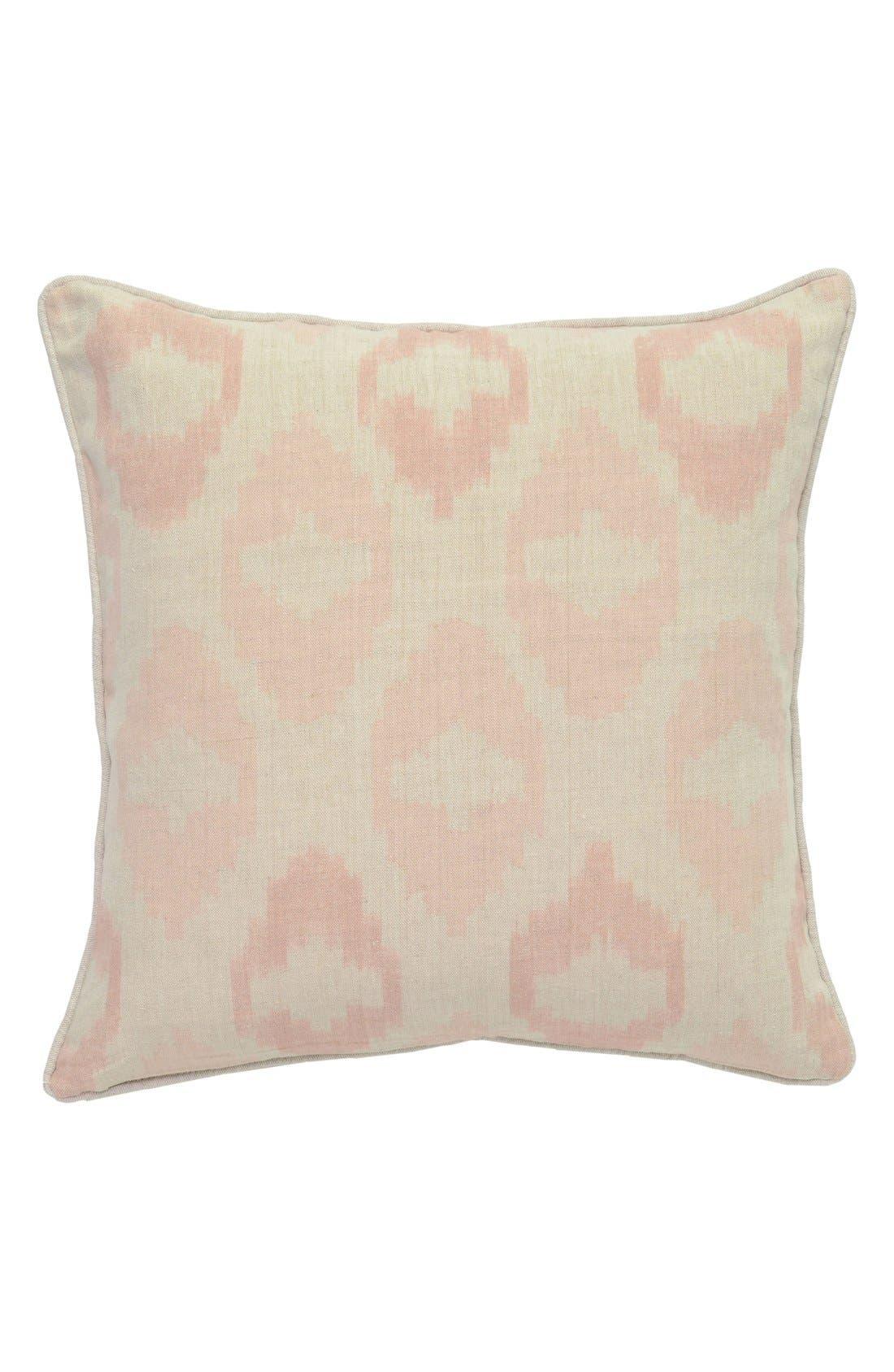 Fae Accent Pillow,                             Alternate thumbnail 2, color,                             BEIGE/ BLUSH