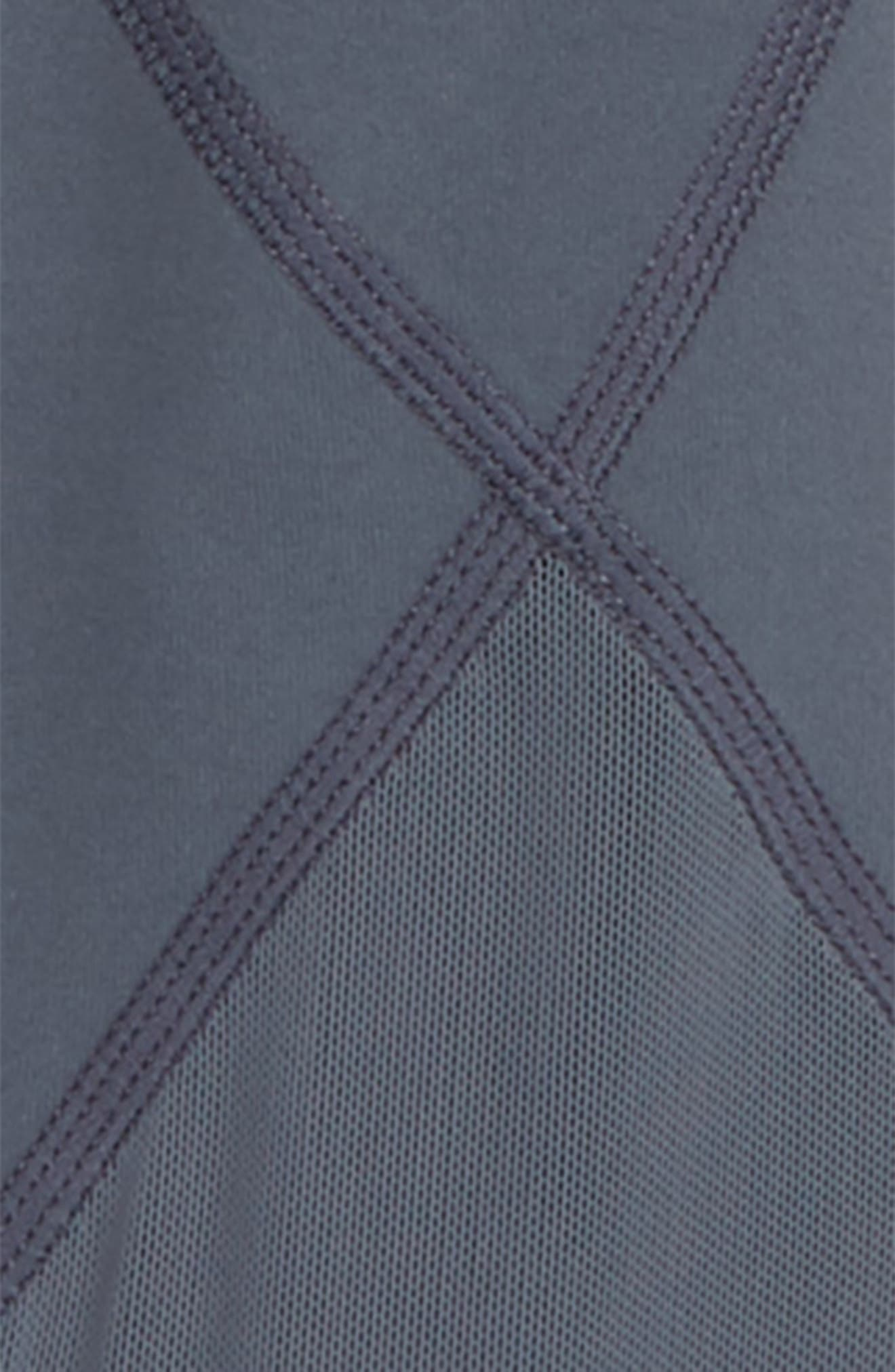High Waist Diamond Leggings,                             Alternate thumbnail 2, color,                             GREY GRAPHITE