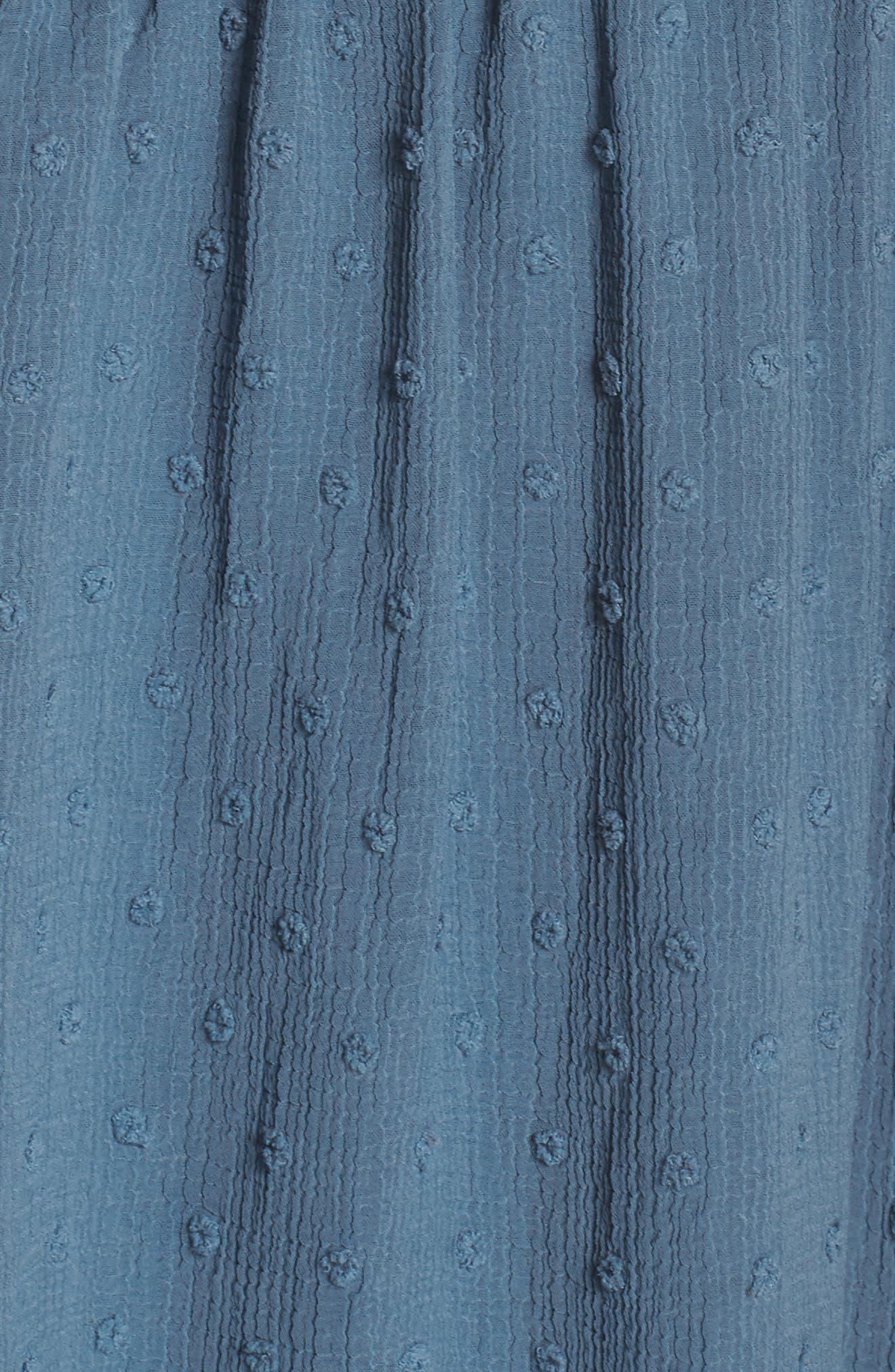 Tie Shoulder Midi Dress,                             Alternate thumbnail 7, color,                             400