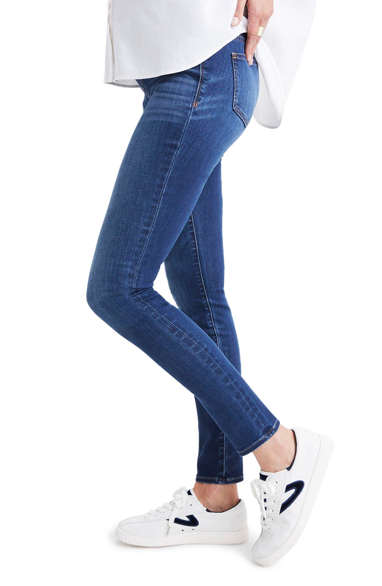Maternity Skinny Jeans,                             Alternate thumbnail 3, color,                             DANNY