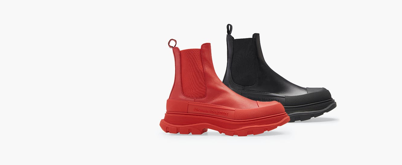 Alexander McQueen boot.