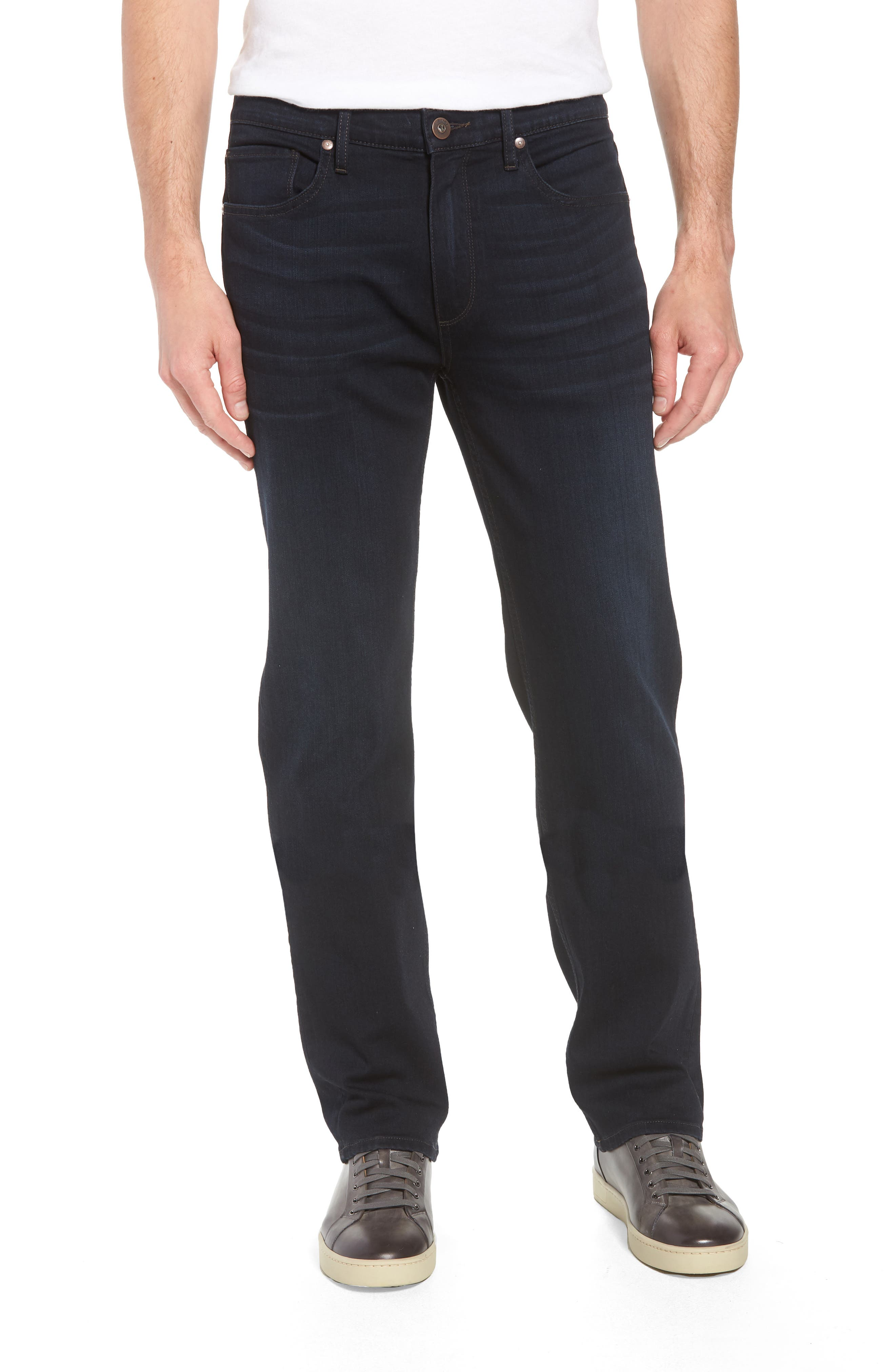Normandie Straight Leg Jeans,                             Main thumbnail 1, color,                             FLEET
