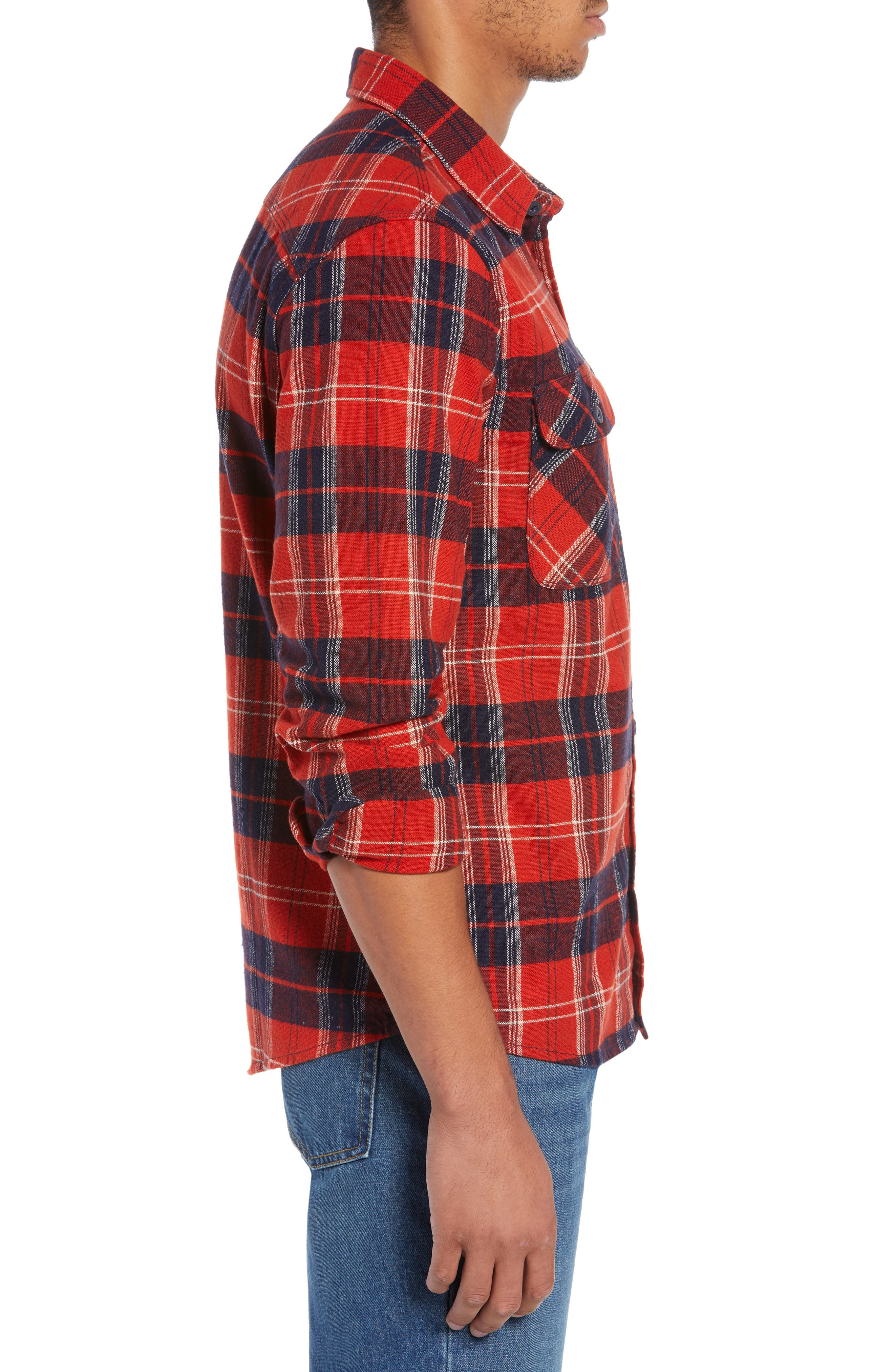 Bowery Flannel Shirt,                             Alternate thumbnail 33, color,