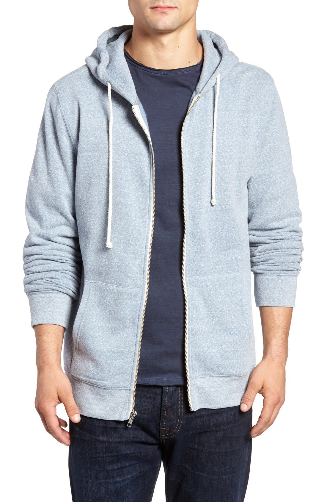 Threads for Thought Trim Fit Heathered Hoodie,                             Main thumbnail 27, color,