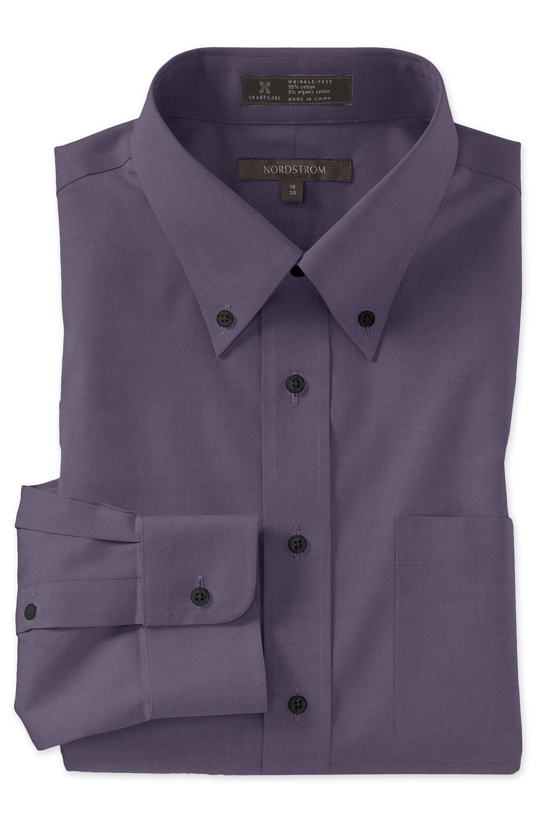 Smartcare<sup>™</sup> Traditional Fit Pinpoint Dress Shirt,                             Main thumbnail 27, color,