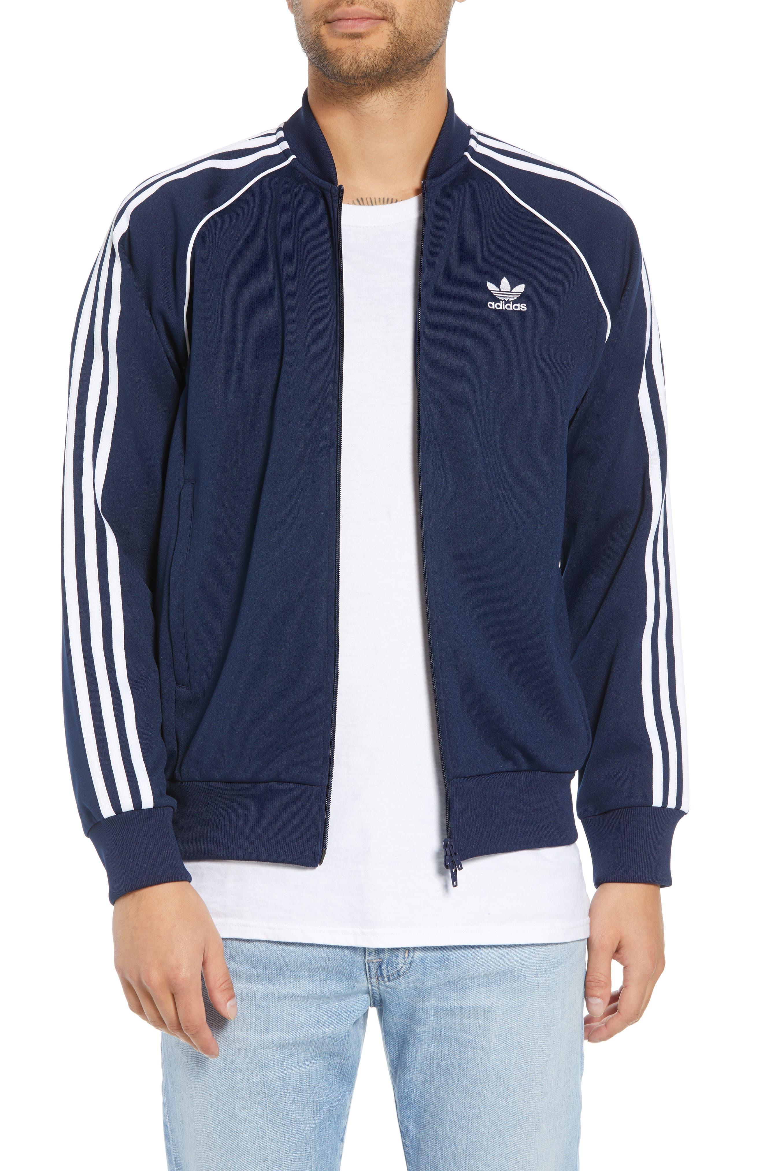 adidas SST Track Jacket,                         Main,                         color, COLLEGIATE NAVY