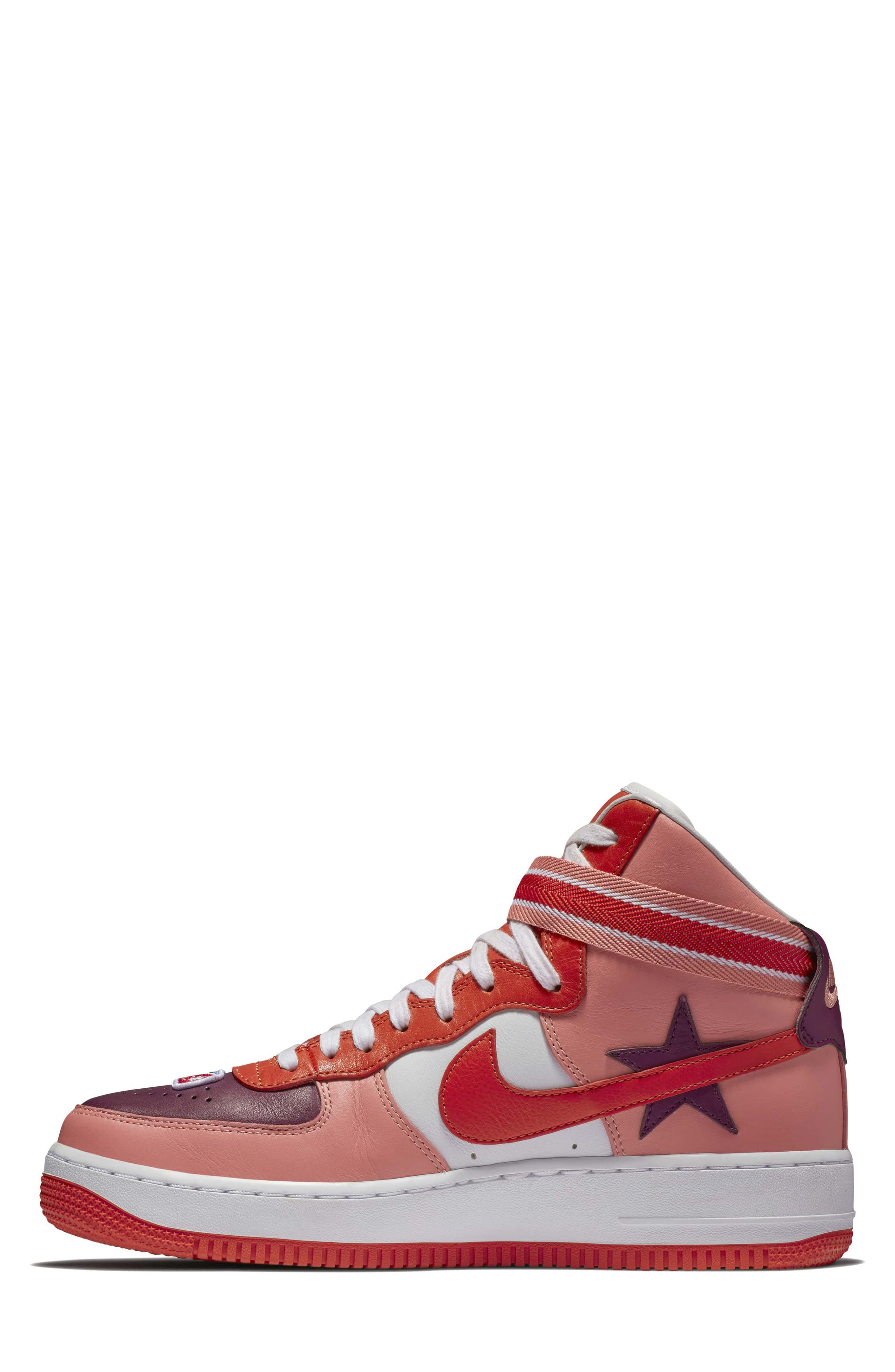 Air Force 1 High RT Sneaker,                             Alternate thumbnail 6, color,