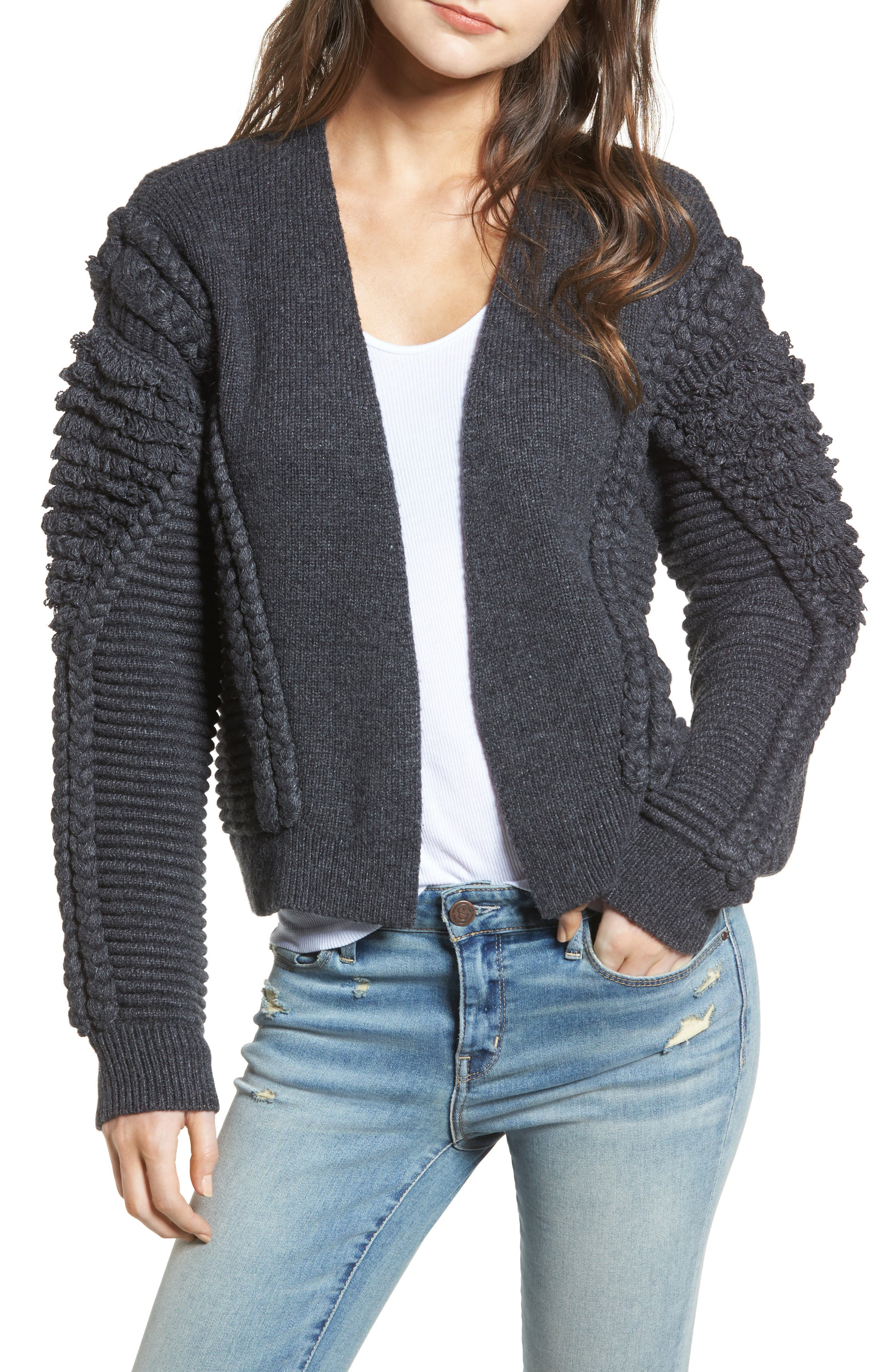 Cable Detail Cardigan,                         Main,                         color, 020