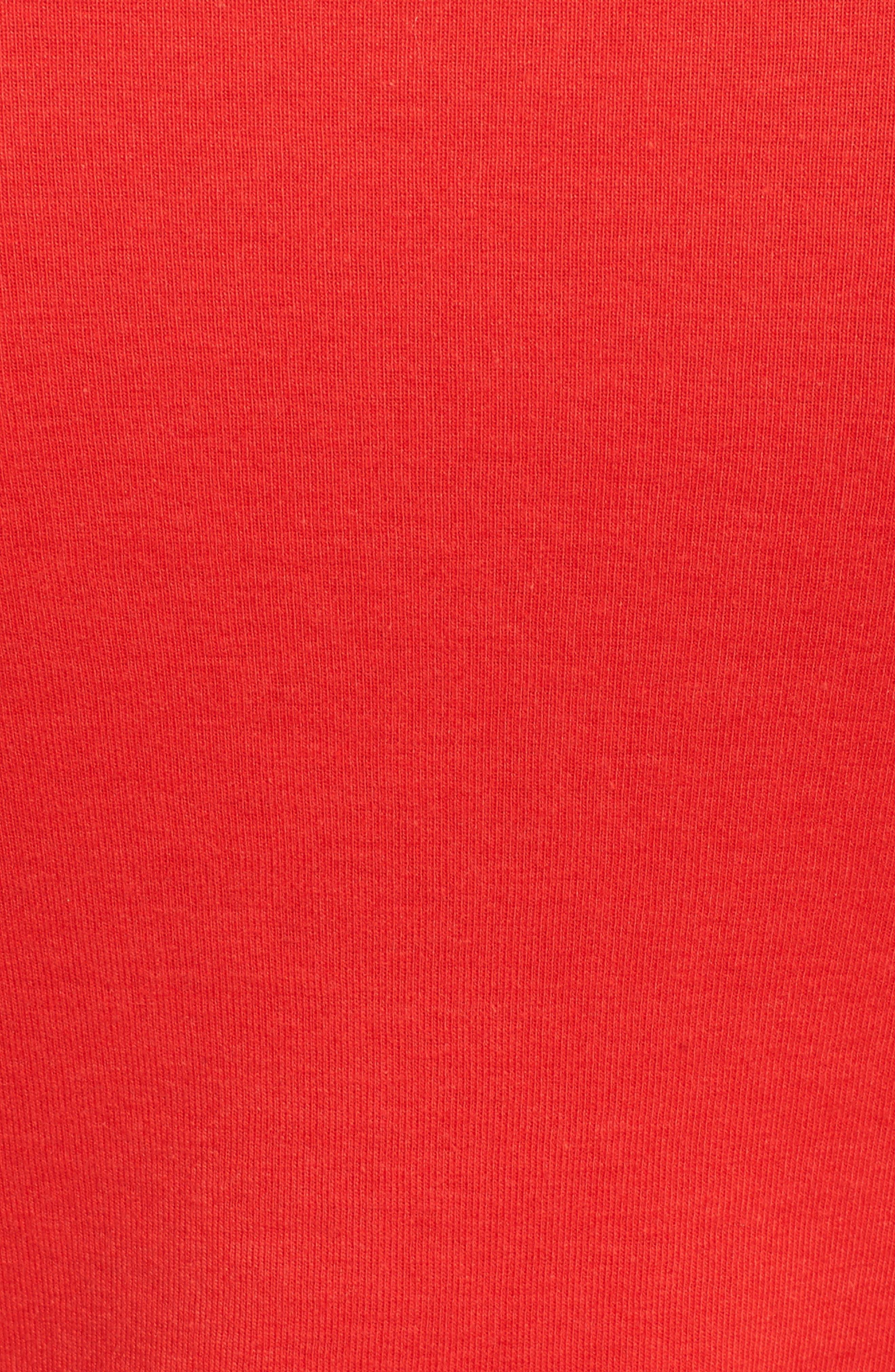Three Quarter Sleeve Tee,                             Alternate thumbnail 105, color,