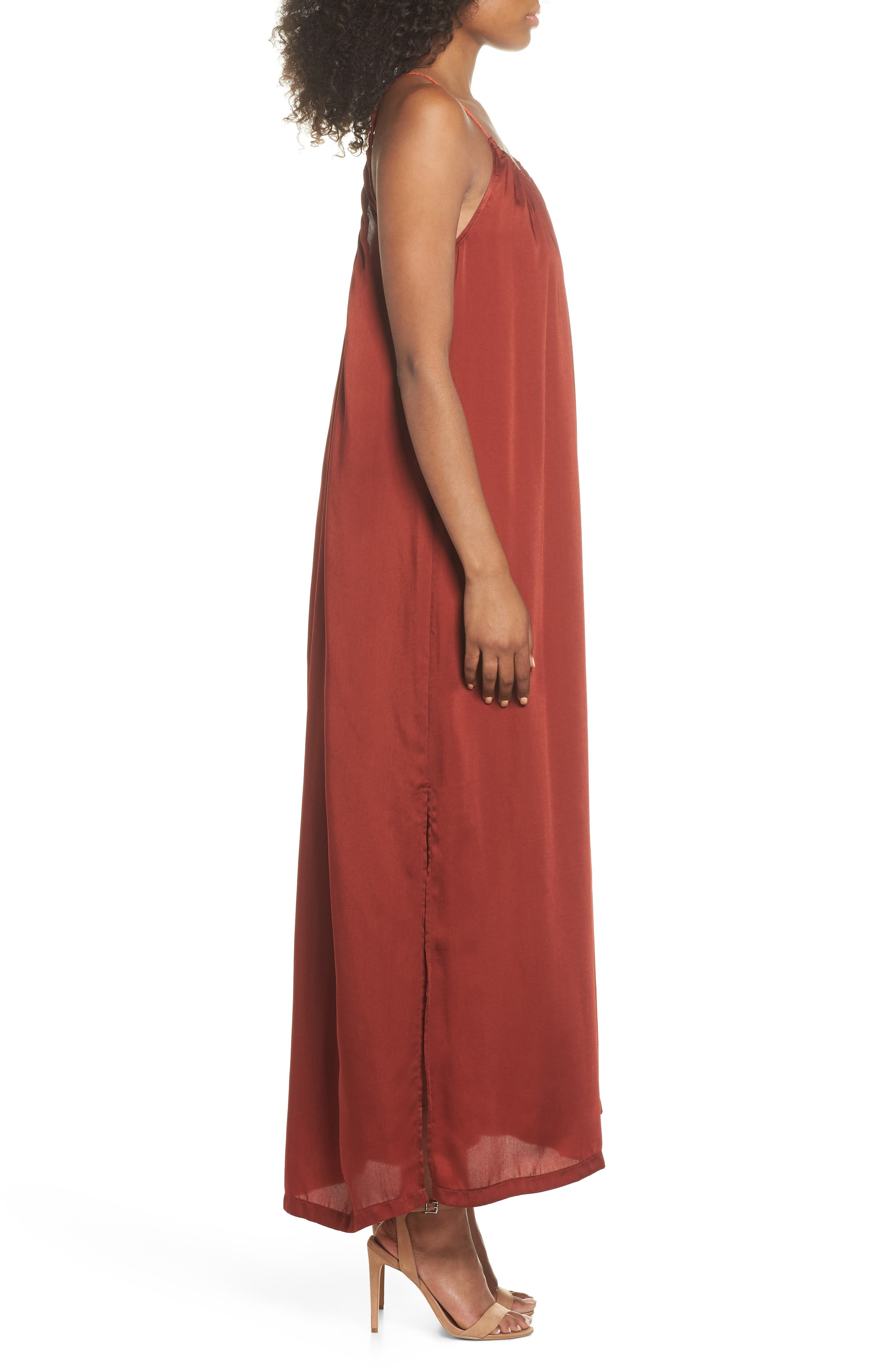 Yvonne Maxi Dress,                             Alternate thumbnail 3, color,                             936