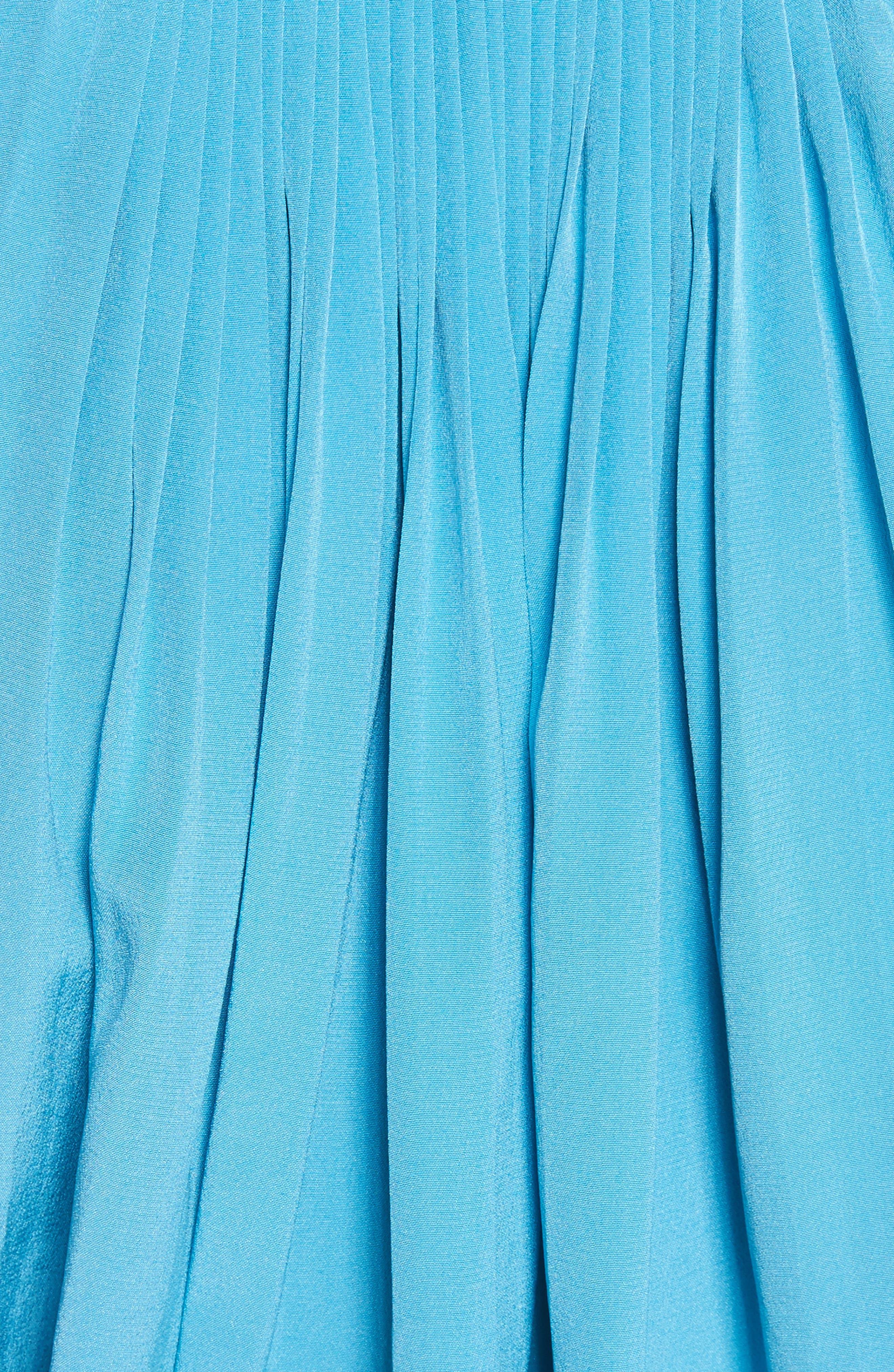 Arielle Sleeveless Silk Top,                             Alternate thumbnail 9, color,