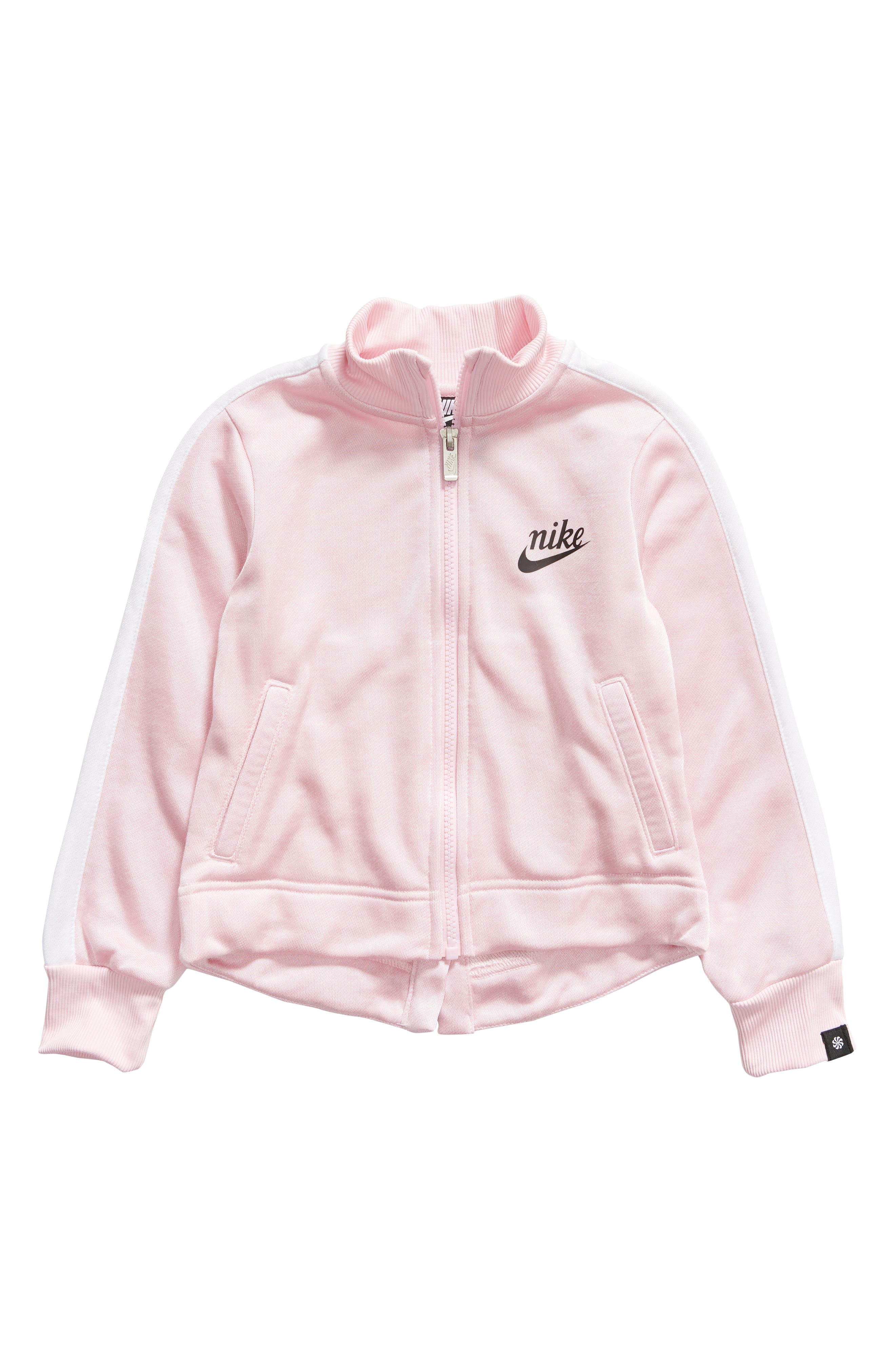NIKE Icon Jacket, Main, color, PINK FOAM