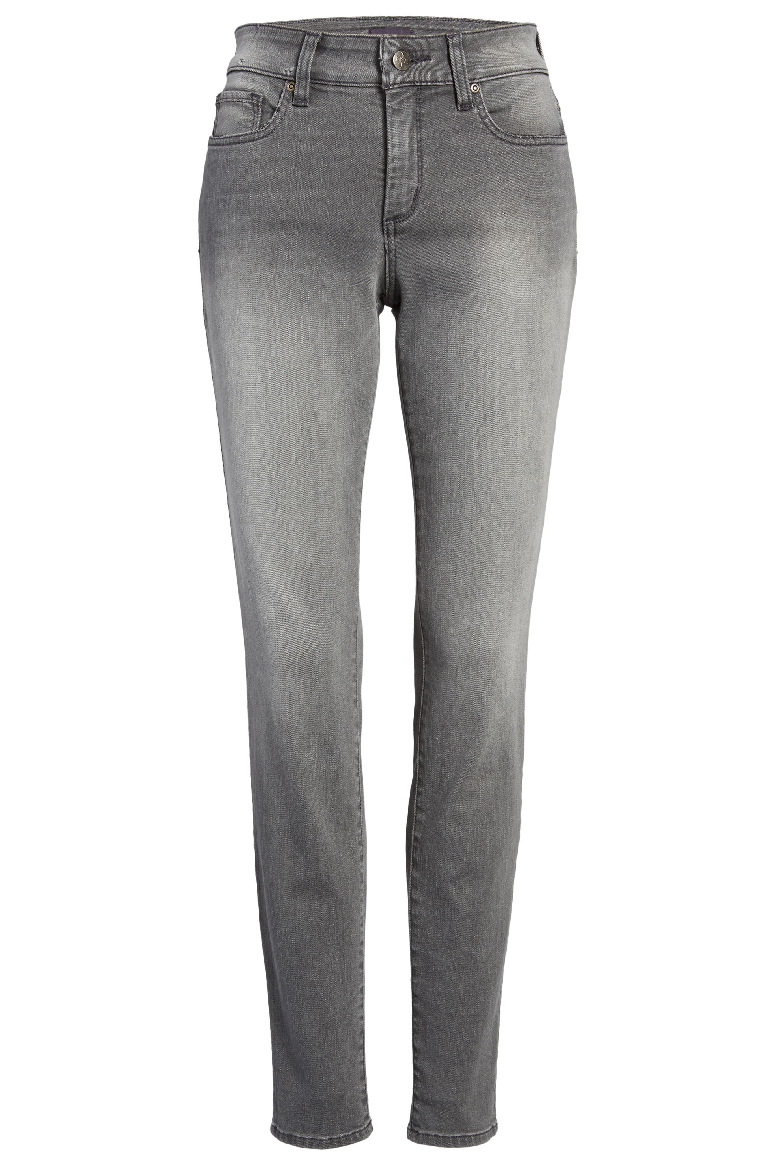 Ami Stretch Skinny Jeans,                             Alternate thumbnail 6, color,                             035