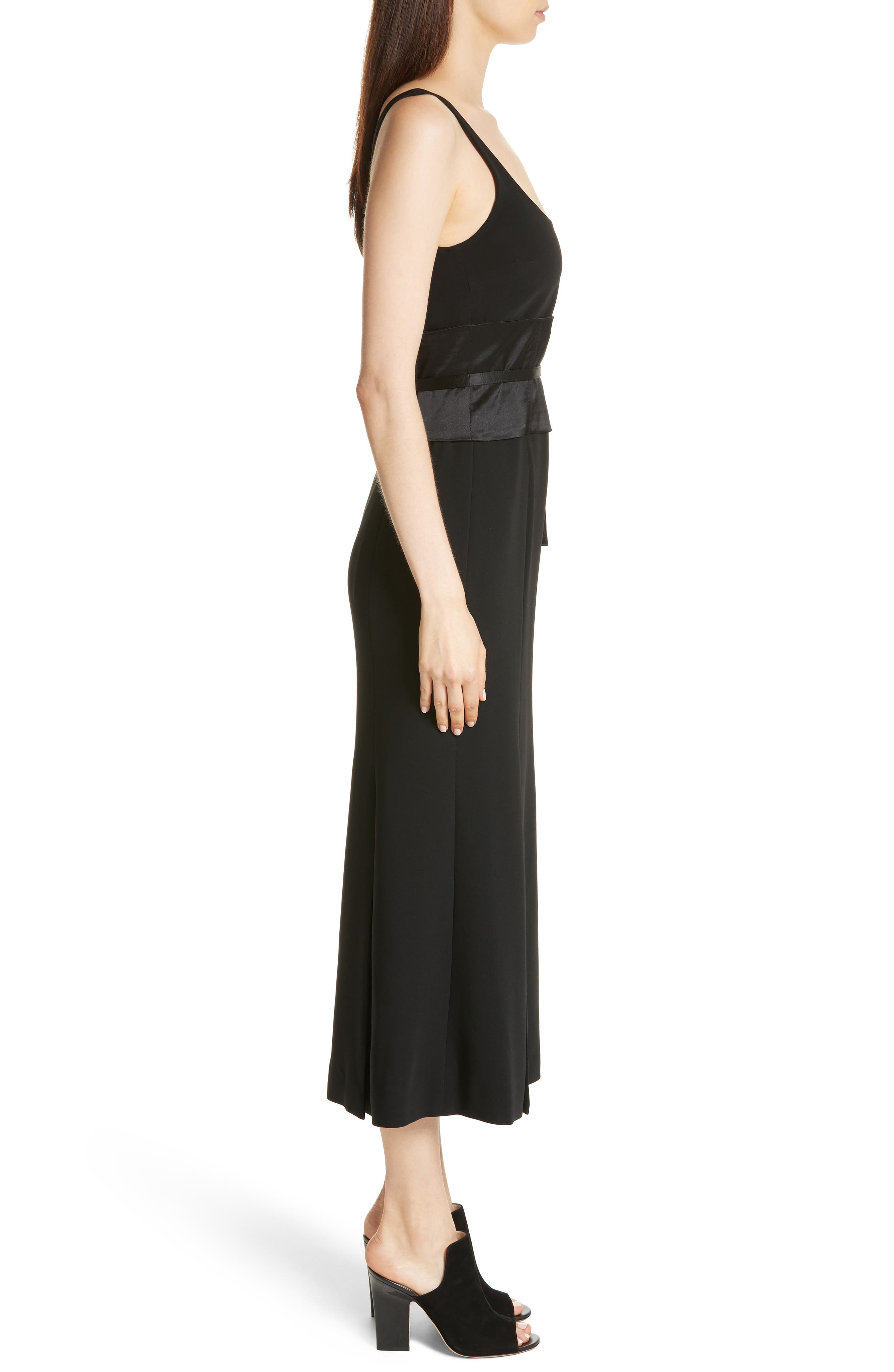 Yvonne Midi Dress,                             Alternate thumbnail 3, color,                             001