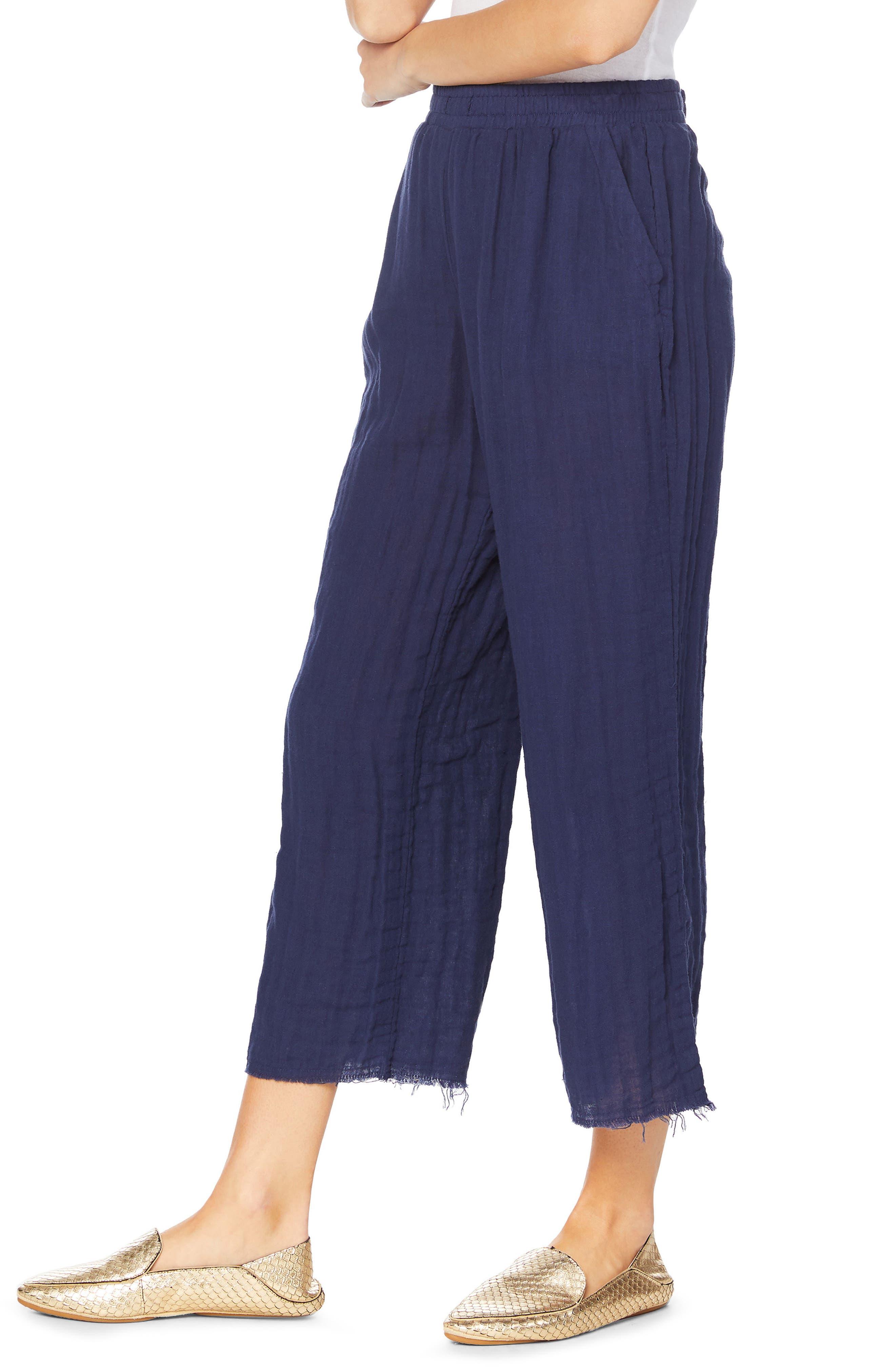 Gauze Pants,                             Alternate thumbnail 4, color,